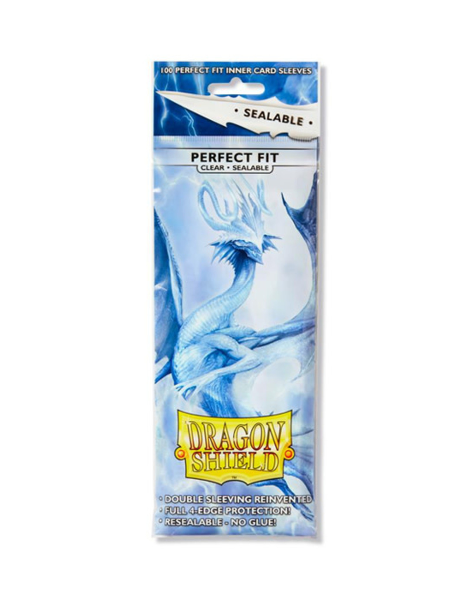 Dragon Shield Dragon Shield: Sleeves - Standard - Perfect Fit - Sealable - Clear