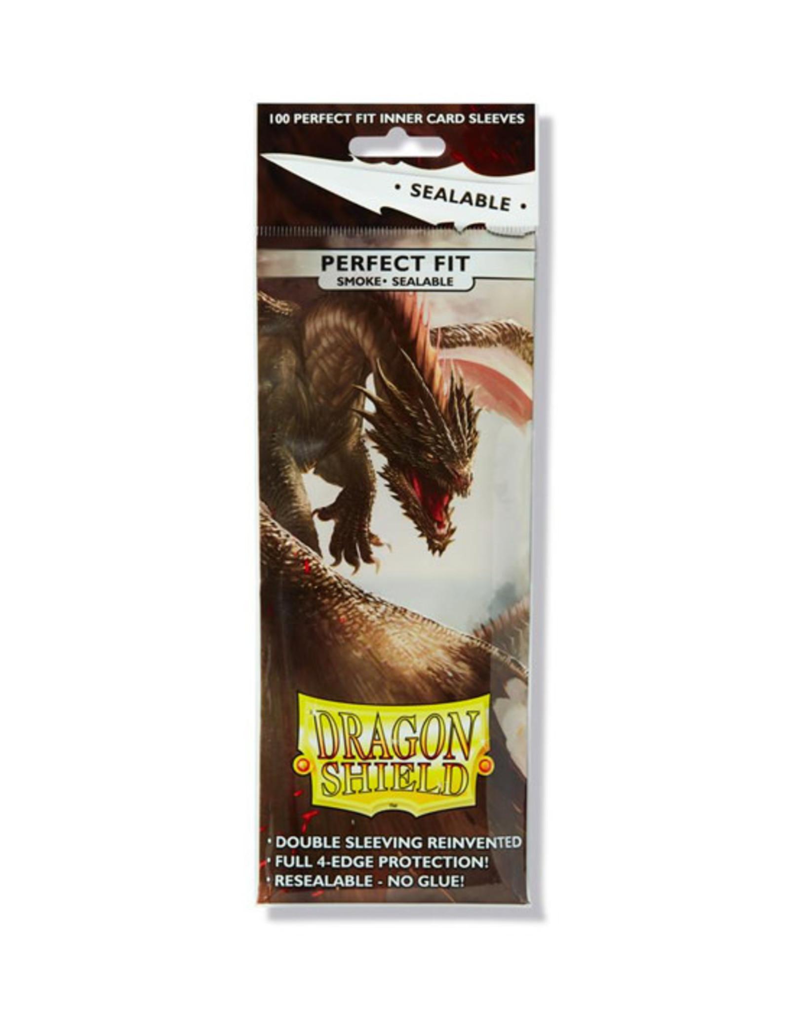 Dragon Shield Dragon Shield: Sleeves - Standard - Perfect Fit - Sealable - Smoke