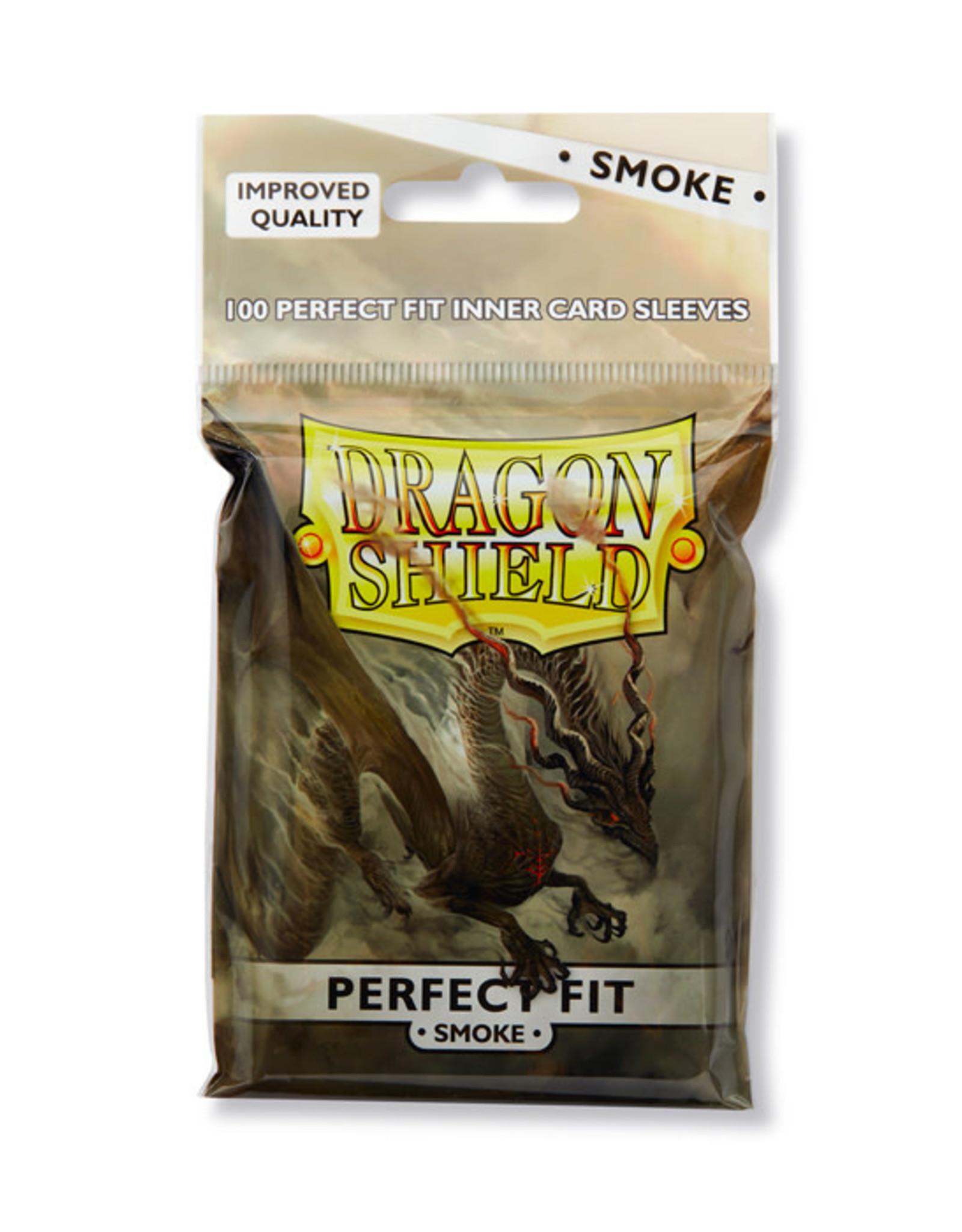 Dragon Shield Dragon Shield: Sleeves - Standard - Perfect Fit - Smoke