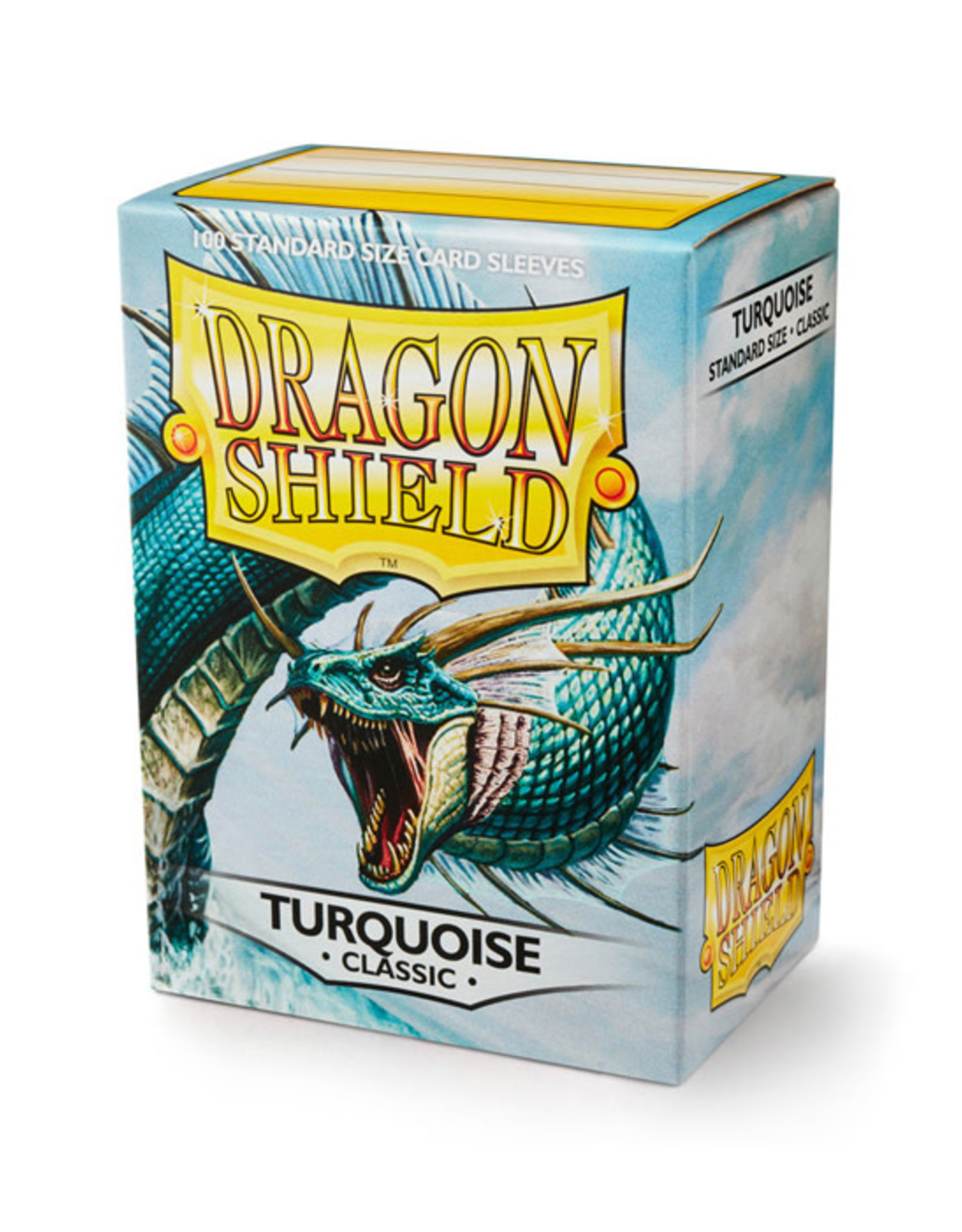 Dragon Shield Dragon Shield: Sleeves - Standard - Turquoise (100)