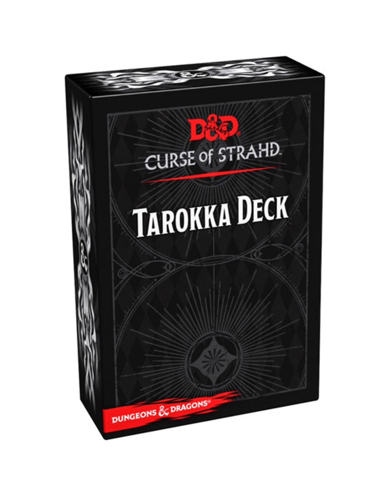 Dungeons & Dragons Dungeons & Dragons: 5th Edition - Curse of Strahd - Tarokka Deck