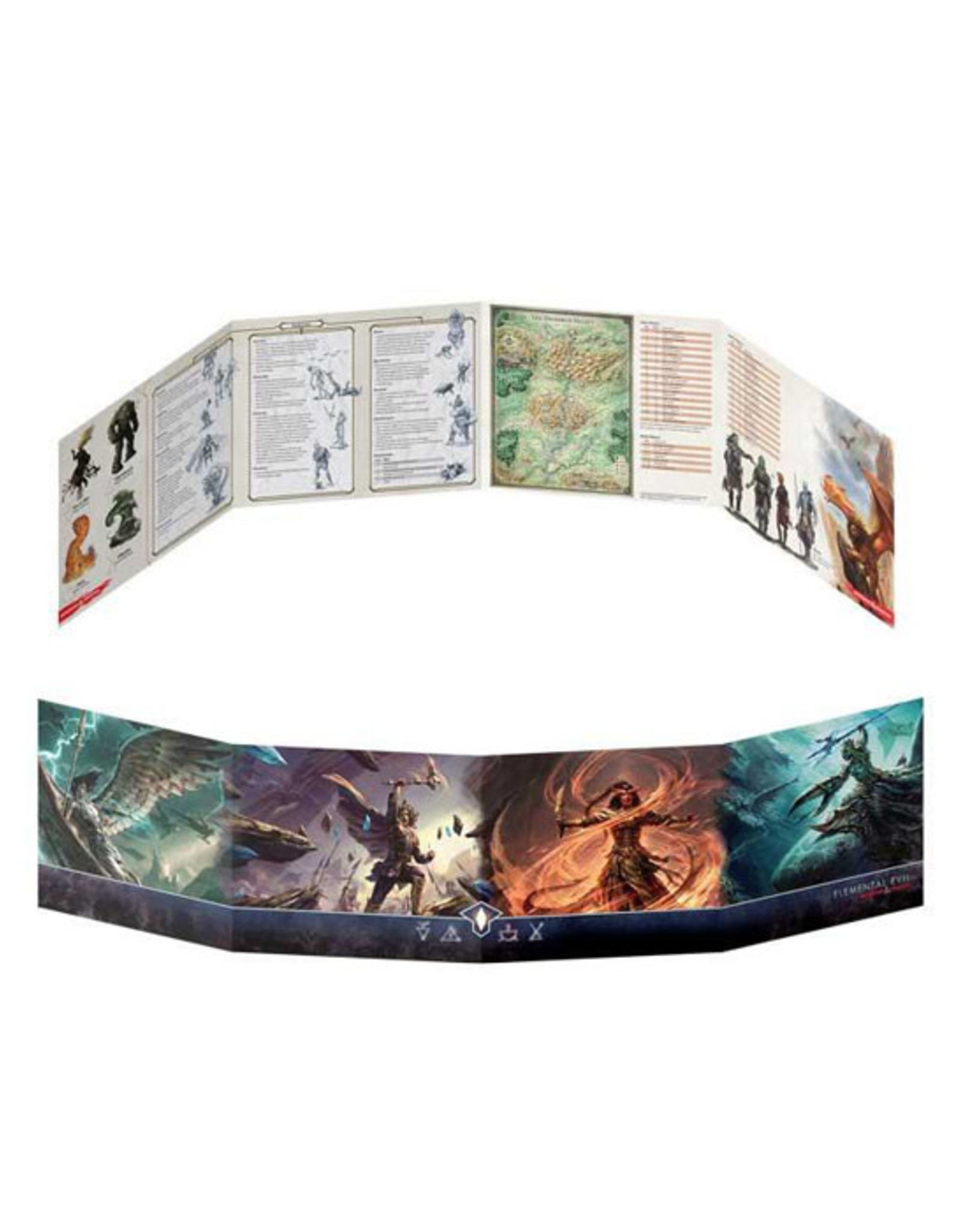 Dungeons & Dragons Dungeons & Dragons: 5th Edition - Dungeon Master's Screen - Elemental Evil
