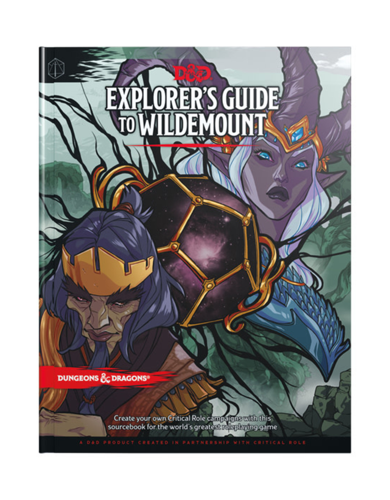 Dungeons & Dragons Dungeons & Dragons: 5th Edition - Explorer's Guide to Wildemount