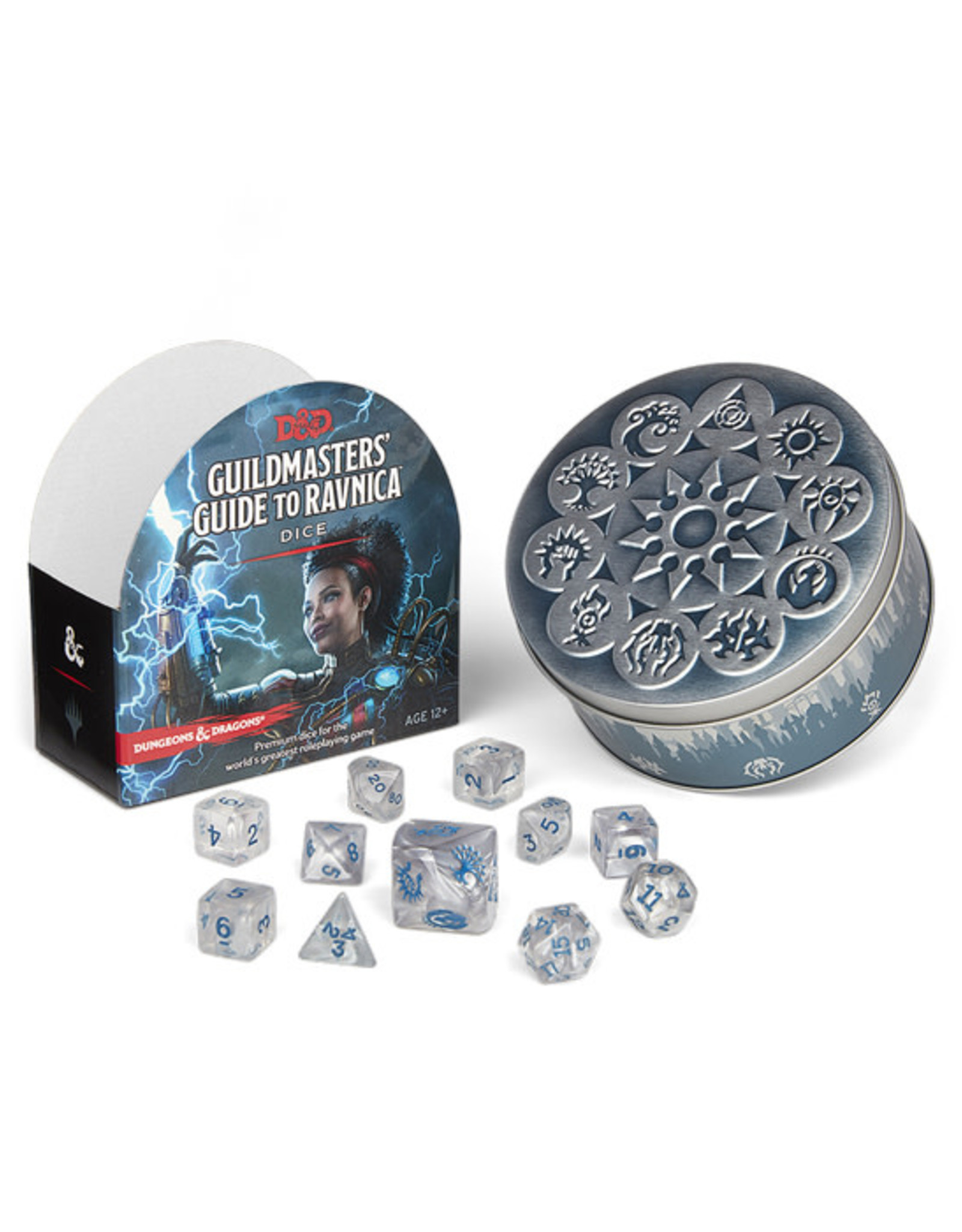 Dungeons & Dragons Dungeons & Dragons: 5th Edition - Guildmaster's Guide to Ravnica - Dice Set