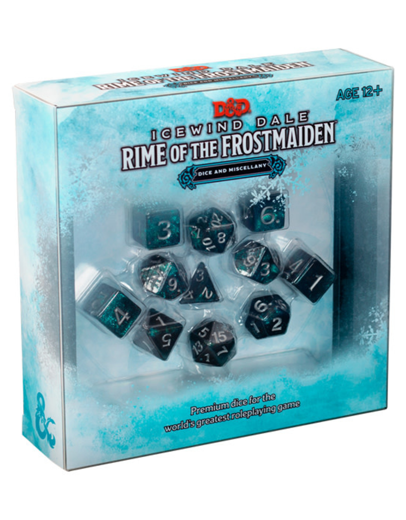 Dungeons & Dragons Dungeons & Dragons: 5th Edition - Icewind Dale - Dice & Miscellany Set