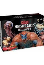Dungeons & Dragons Dungeons & Dragons: 5th Edition - Monster Cards - Challenge 0 - 5