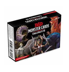 Dungeons & Dragons Dungeons & Dragons: 5th Edition - Monster Cards - Challenge 6-16