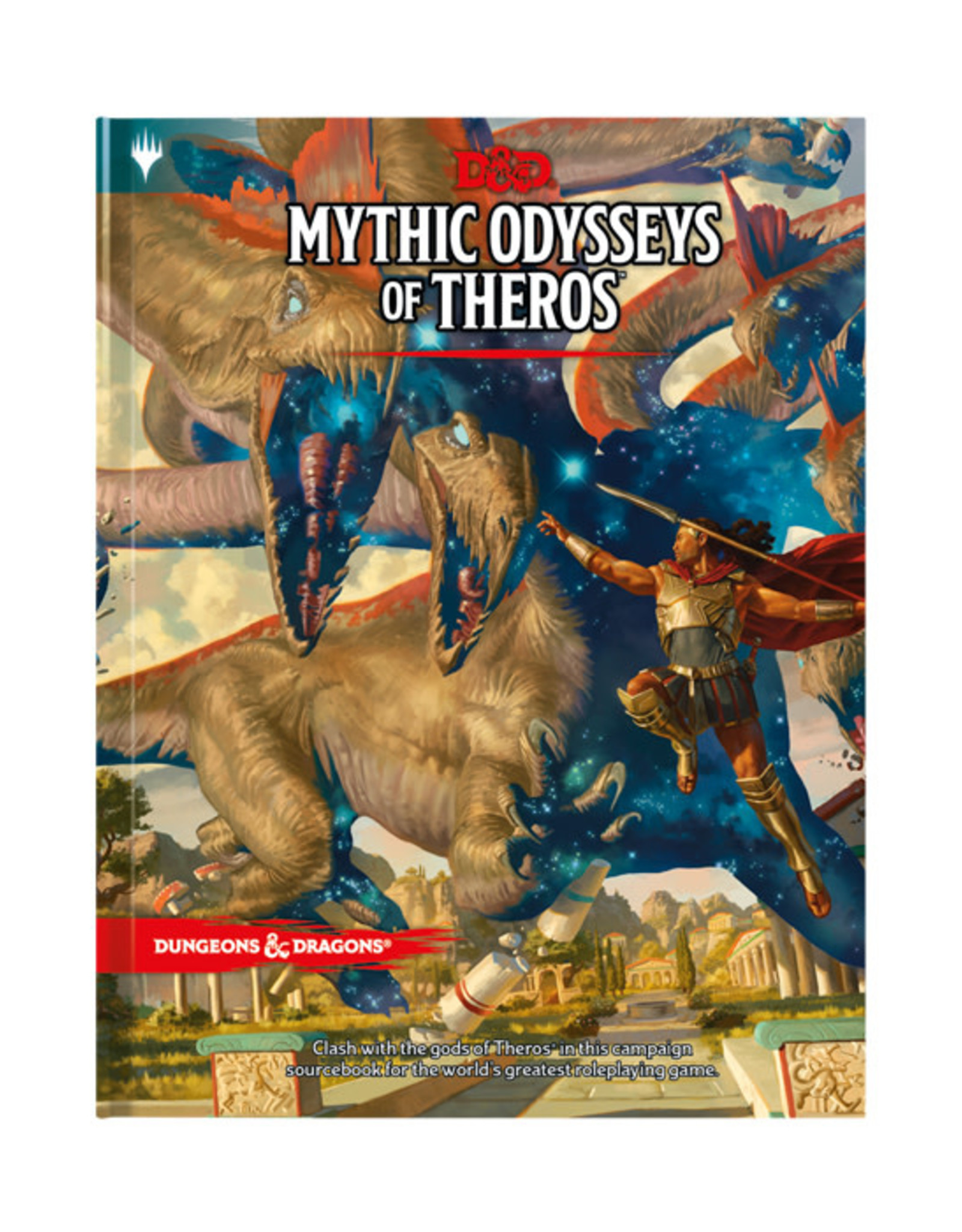 Dungeons & Dragons Dungeons & Dragons: 5th Edition - Mythic Odysseys of Theros