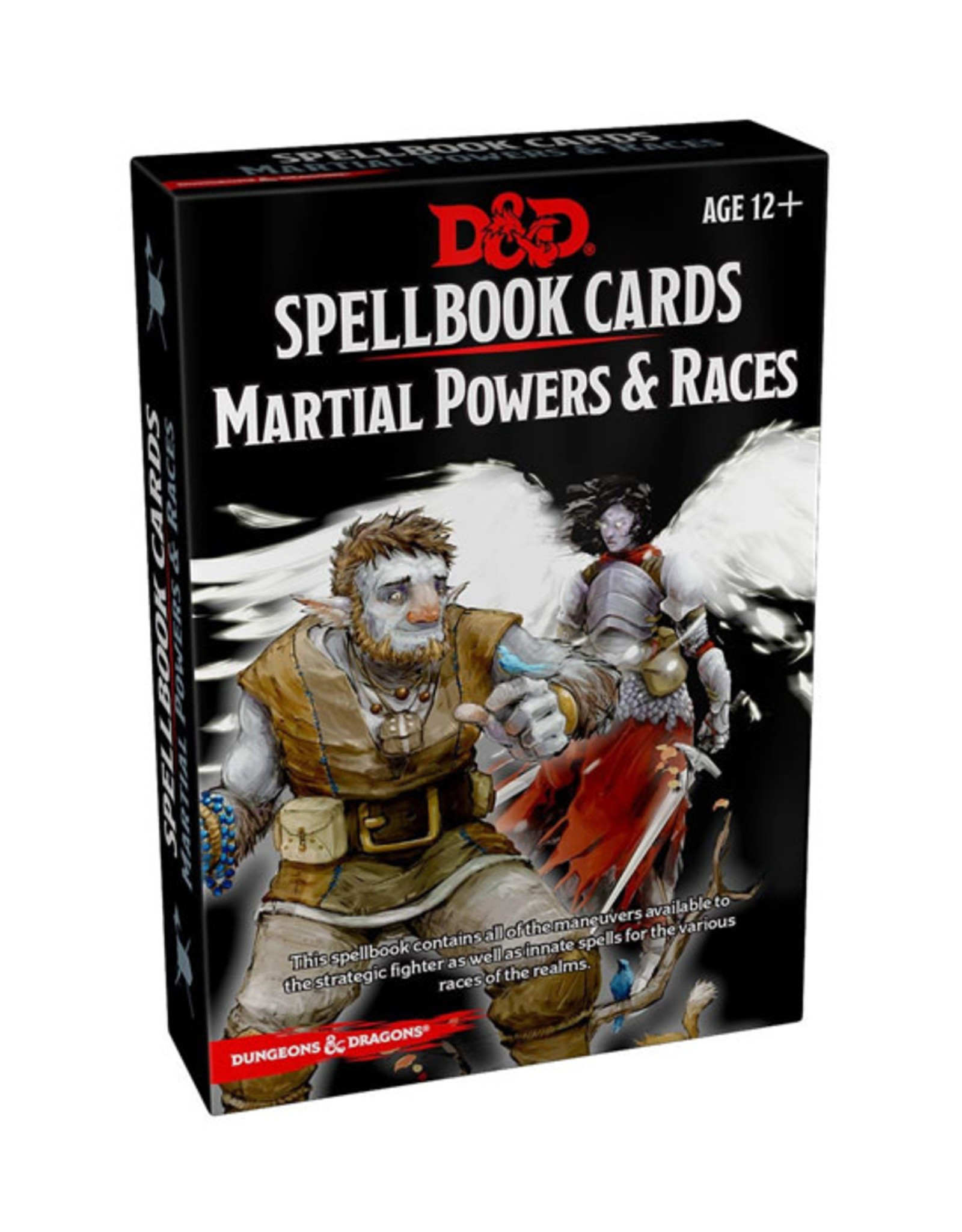 Dungeons & Dragons Dungeons & Dragons: 5th Edition - Spellbook Cards - Martial Powers & Races