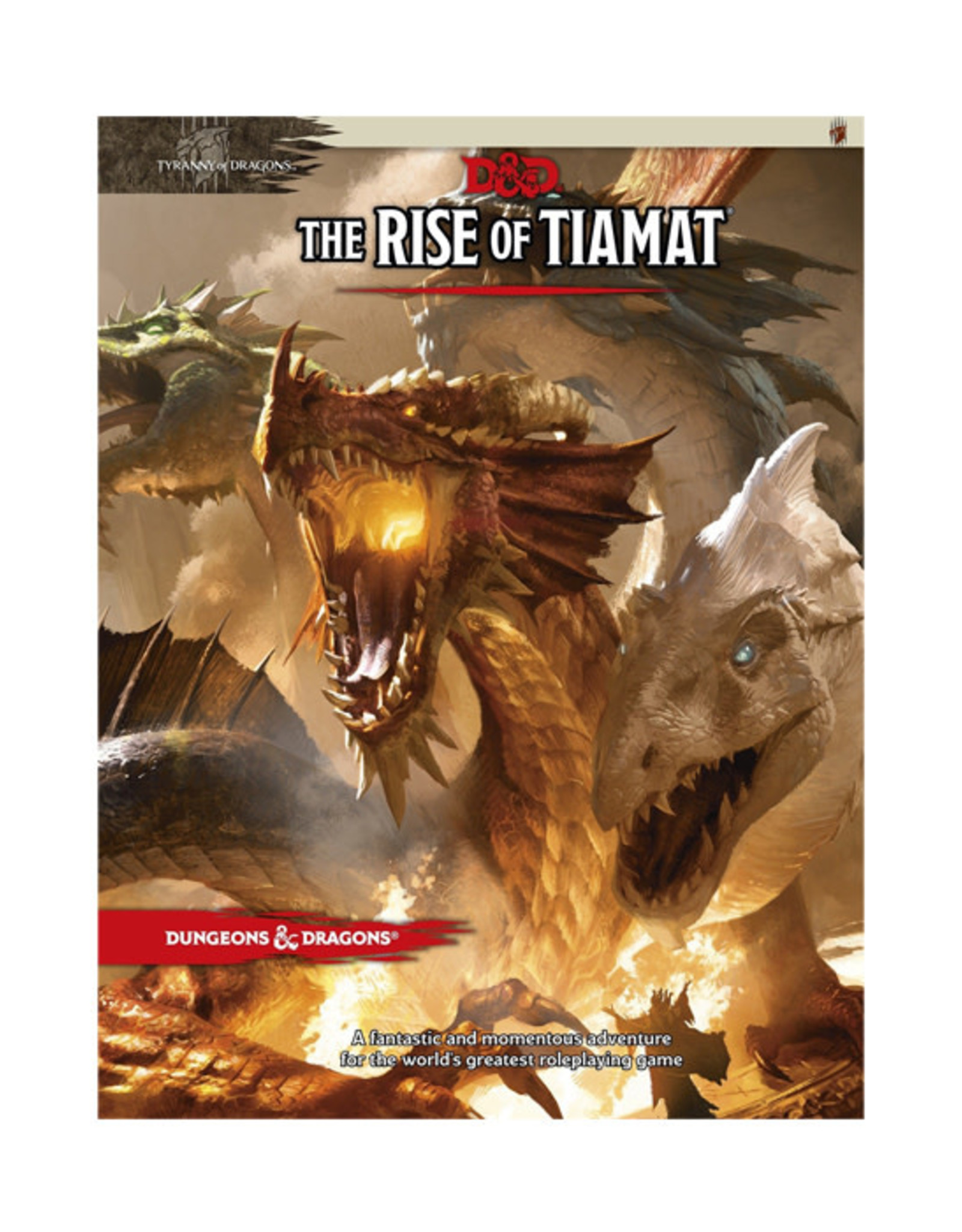 Dungeons & Dragons Dungeons & Dragons: 5th Edition - The Rise of Tiamat
