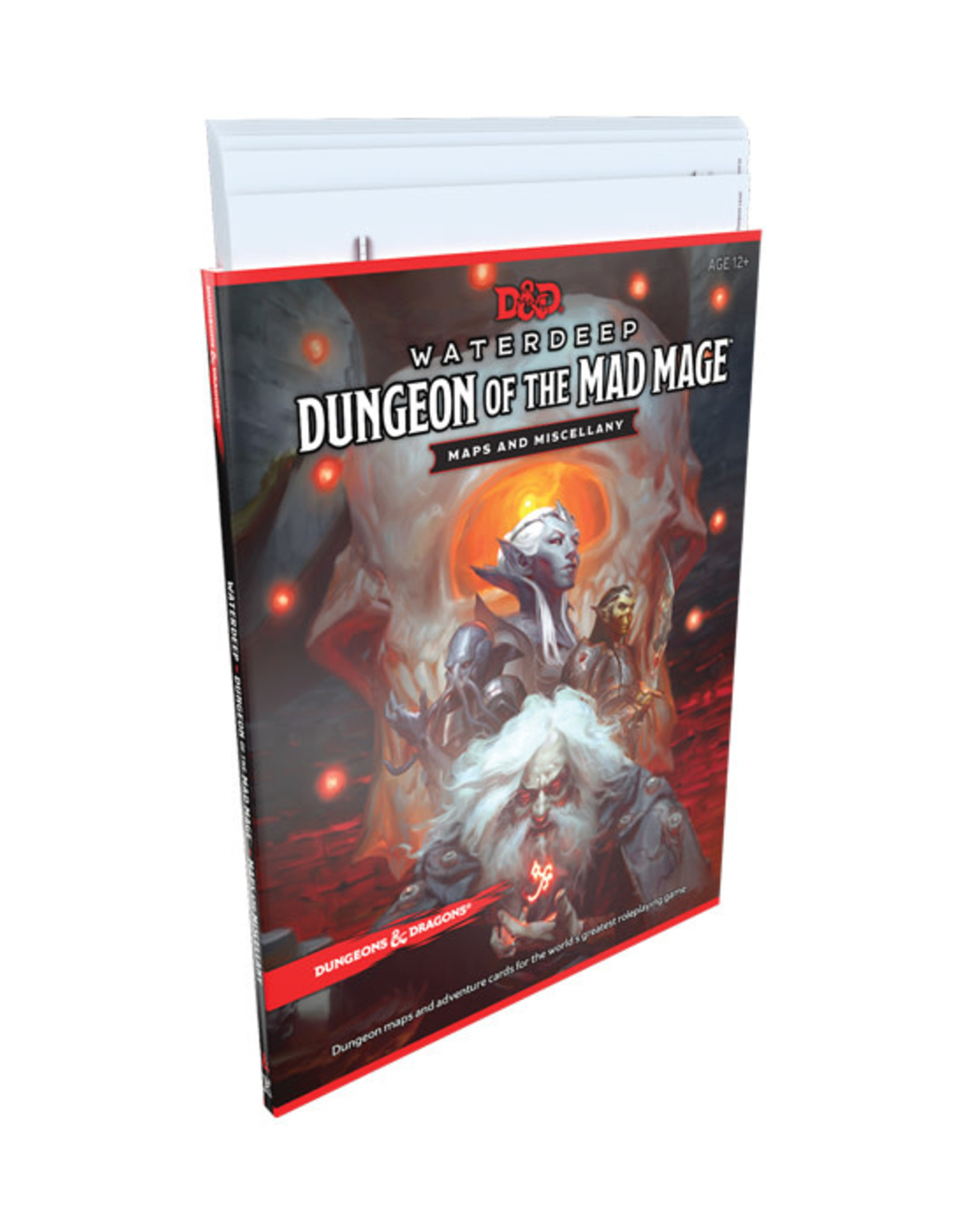 Dungeons & Dragons Dungeons & Dragons: 5th Edition - Waterdeep - Dungeon of the Mad Mage - Map Pack