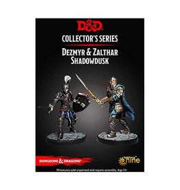 Dungeons & Dragons Dungeons & Dragons: Collector's Series - Dungeon of the Mad Mage - Dezmyr & Zalthar Shadowdusk
