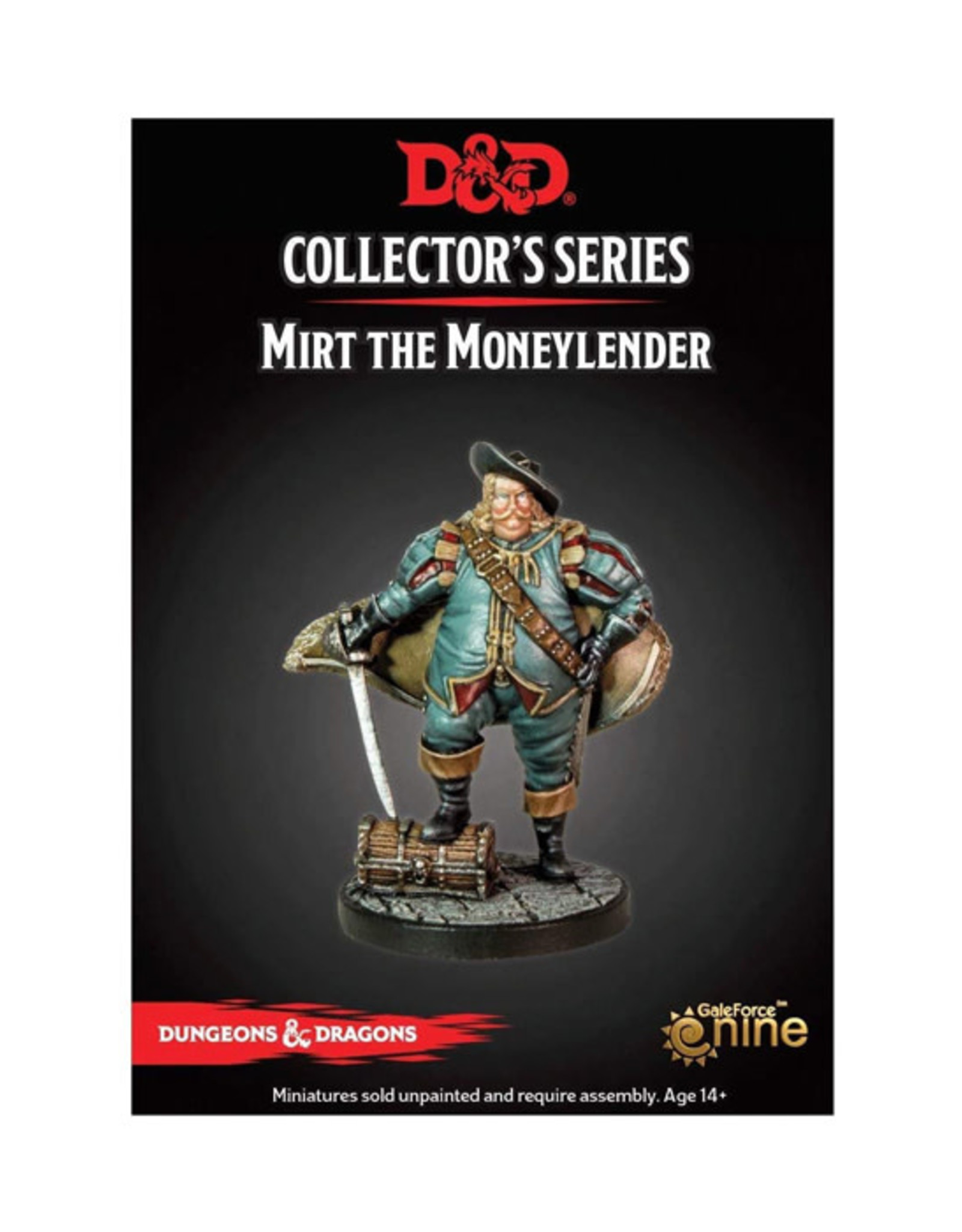 Dungeons & Dragons Dungeons & Dragons: Collector's Series - Mirt the Moneylender