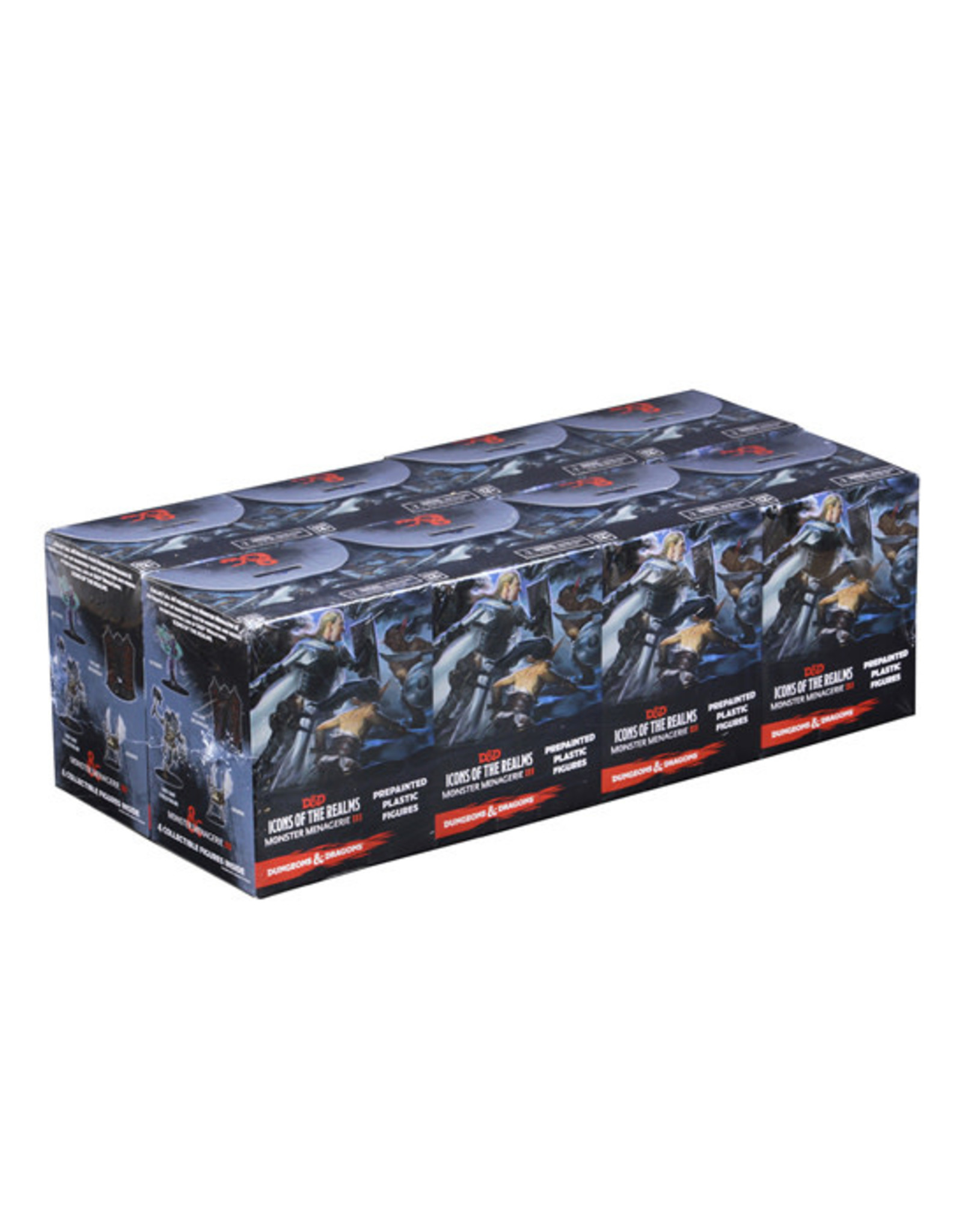 Dungeons & Dragons: Icons of the Realms - Monster Menagerie 3 - Booster Brick