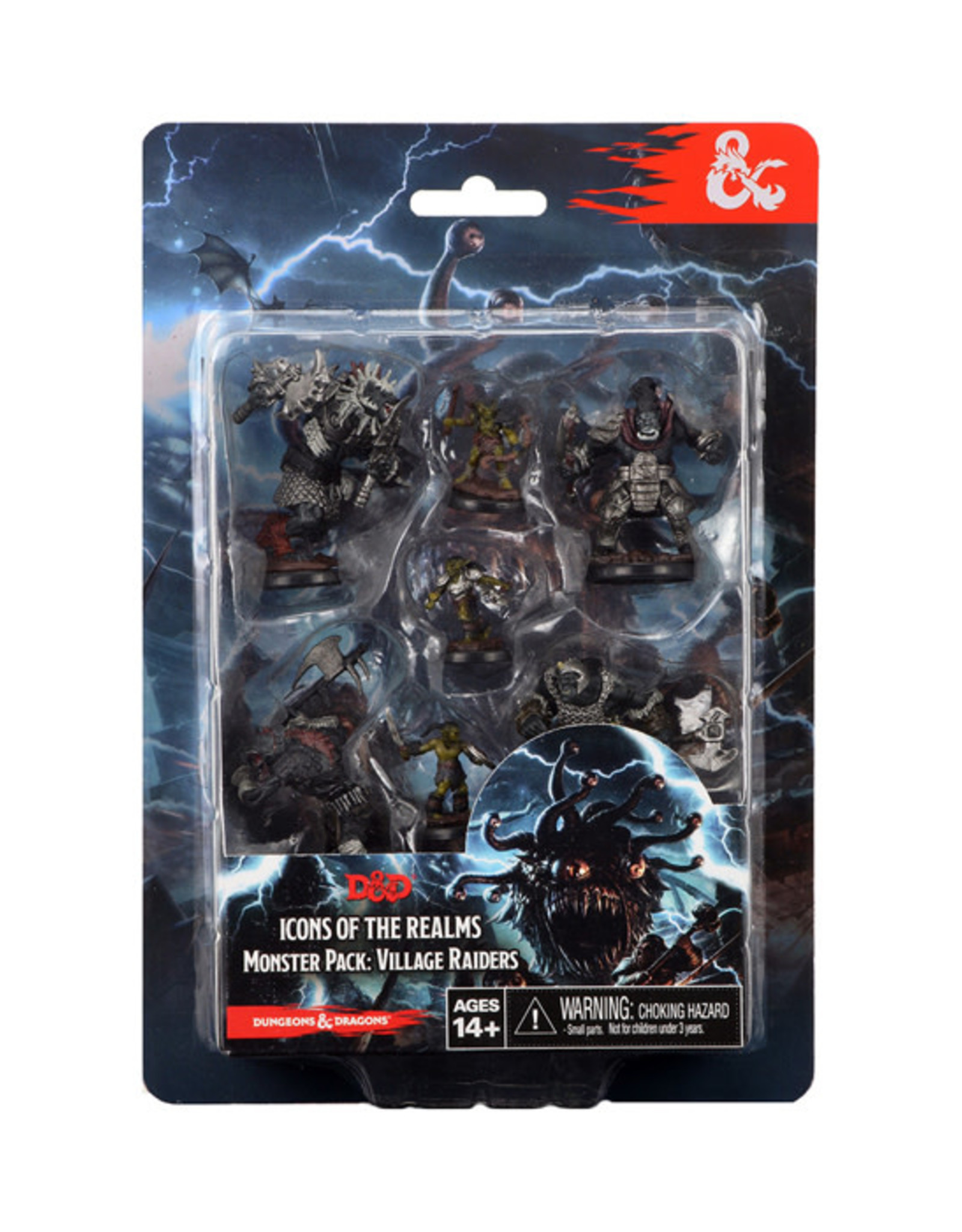 Dungeons & Dragons Dungeons & Dragons: Icons of the Realms - Monster Pack - Village Raiders