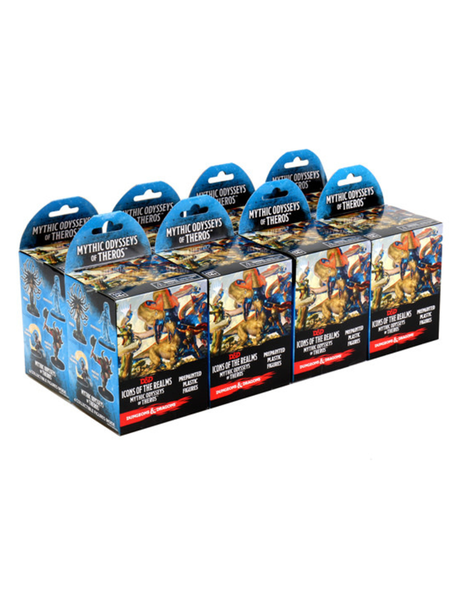 Dungeons & Dragons Dungeons & Dragons: Icons of the Realms - Mythic Odysseys of Theros - Booster Brick