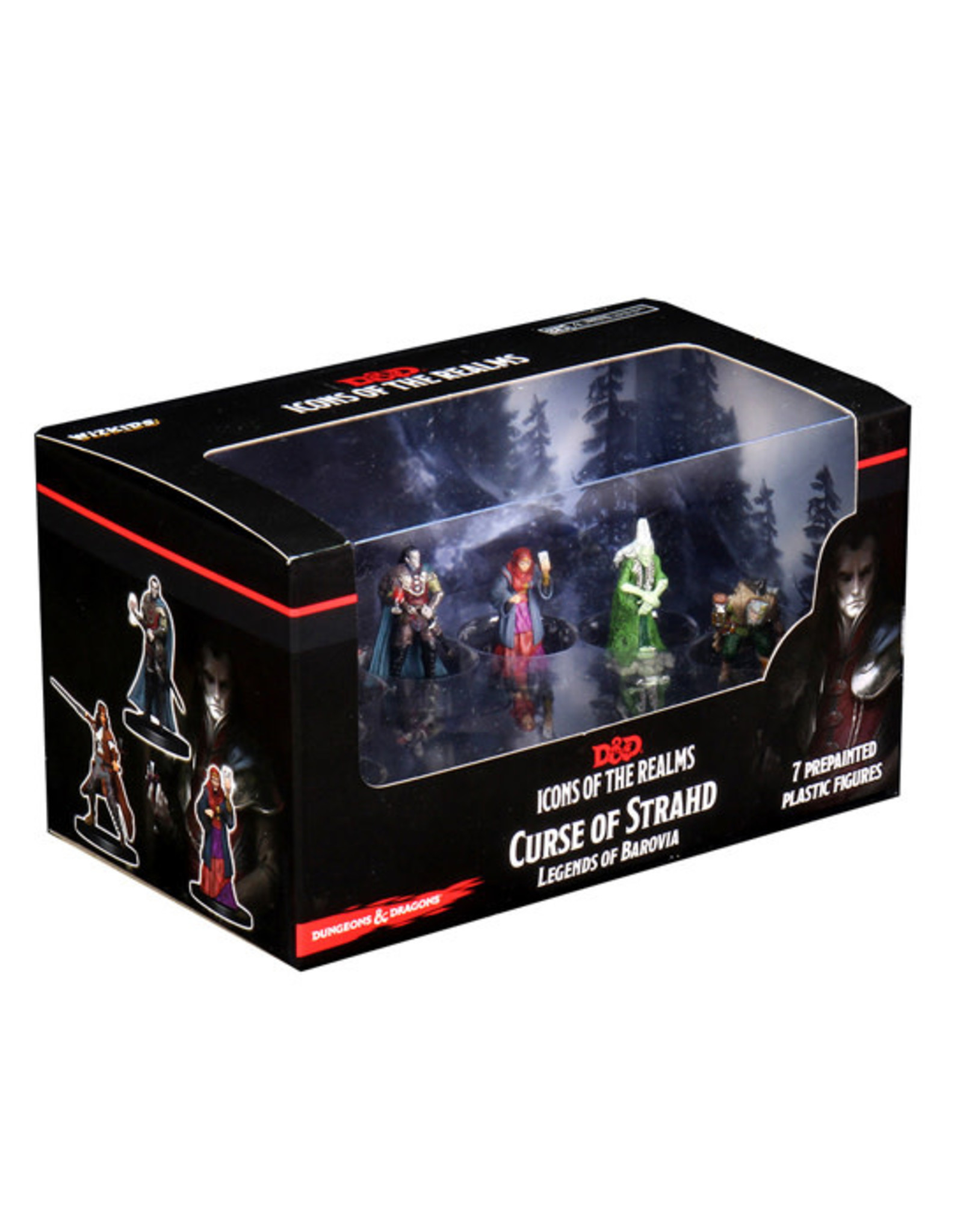 Dungeons & Dragons Dungeons & Dragons: Icons of the Realms - Premium Box Set - Curse of Strahd - Legends of Barovia