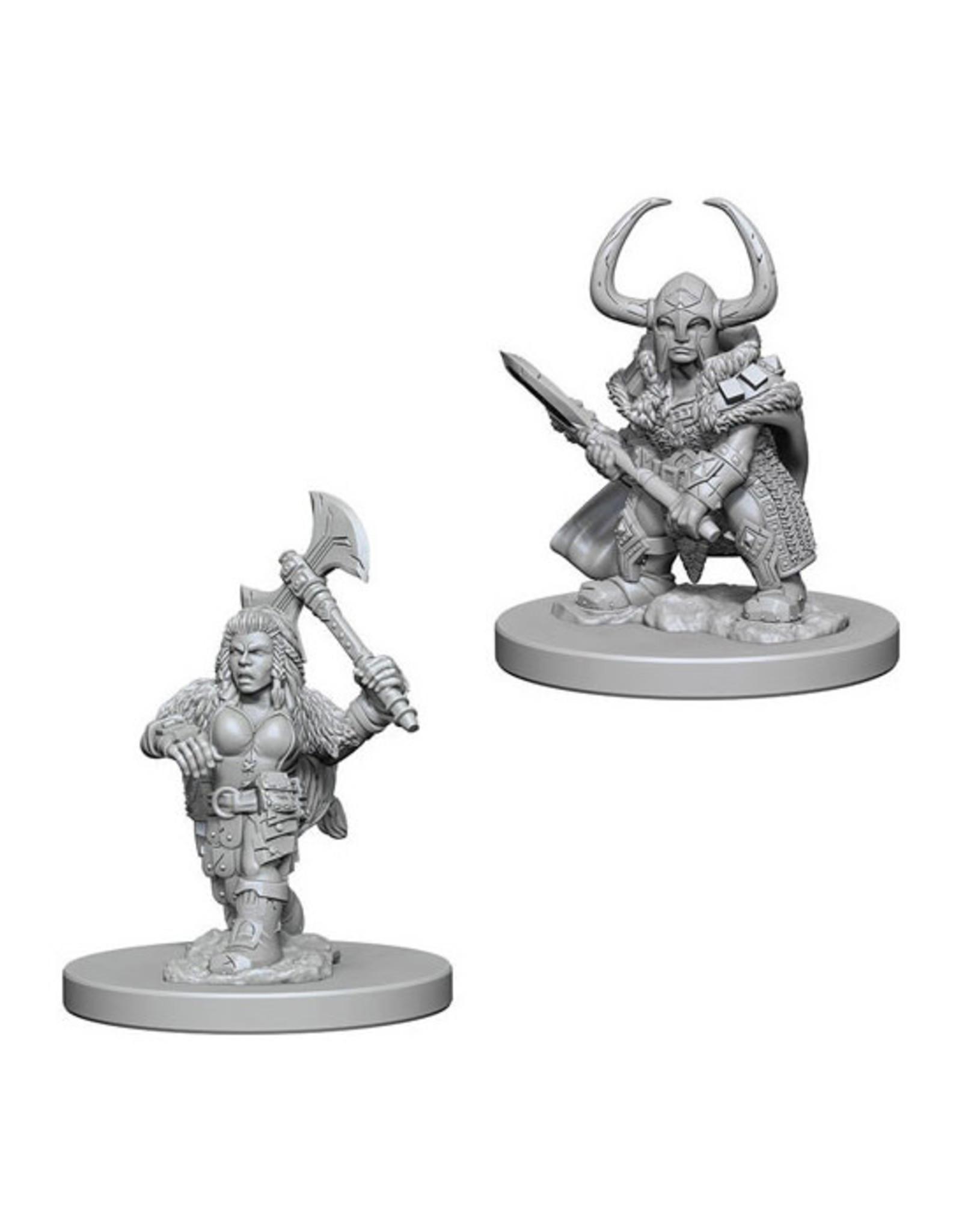 Dungeons & Dragons Dungeons & Dragons: Nolzur's - Dwarf Female Barbarian