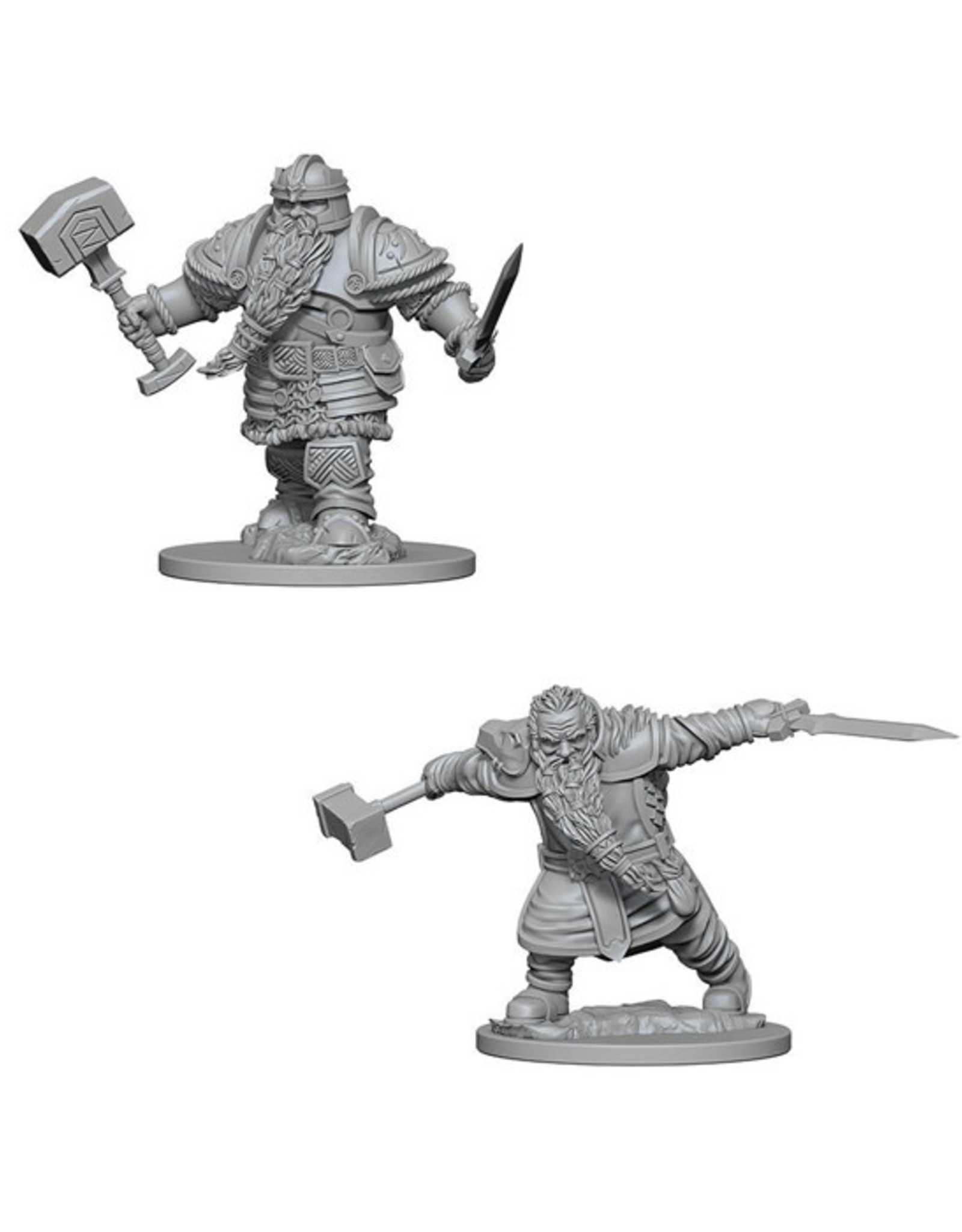 Dungeons & Dragons Dungeons & Dragons: Nolzur's - Dwarf Male Fighter