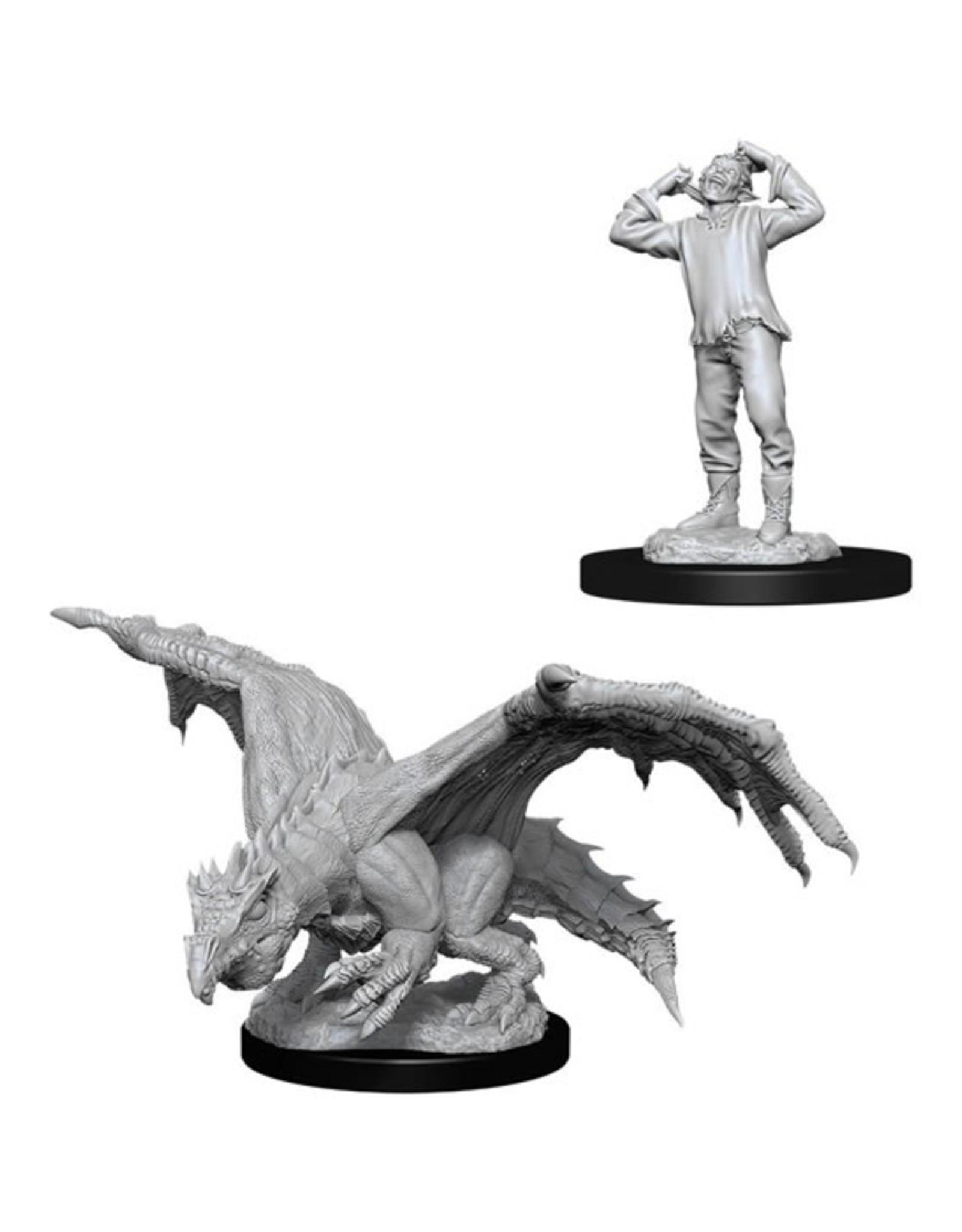 Dungeons & Dragons Dungeons & Dragons: Nolzur's - Green Dragon Wyrmling & Afflicted Elf