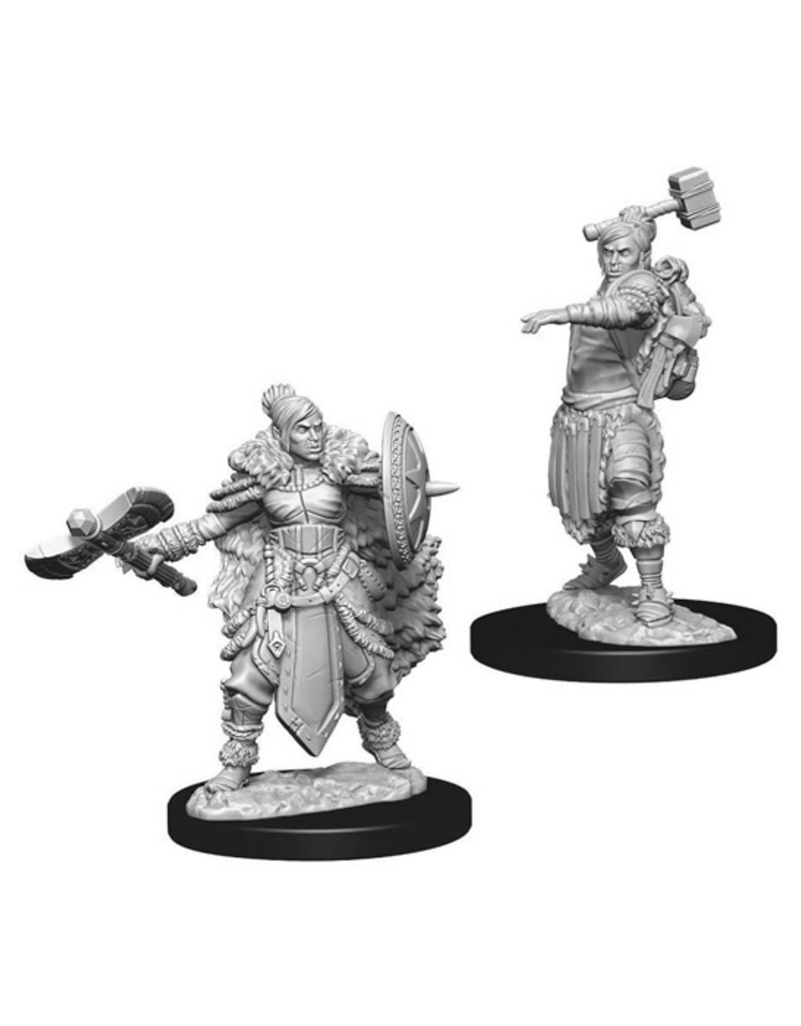 Dungeons & Dragons Dungeons & Dragons: Nolzur's - Half-Orc Female Barbarian