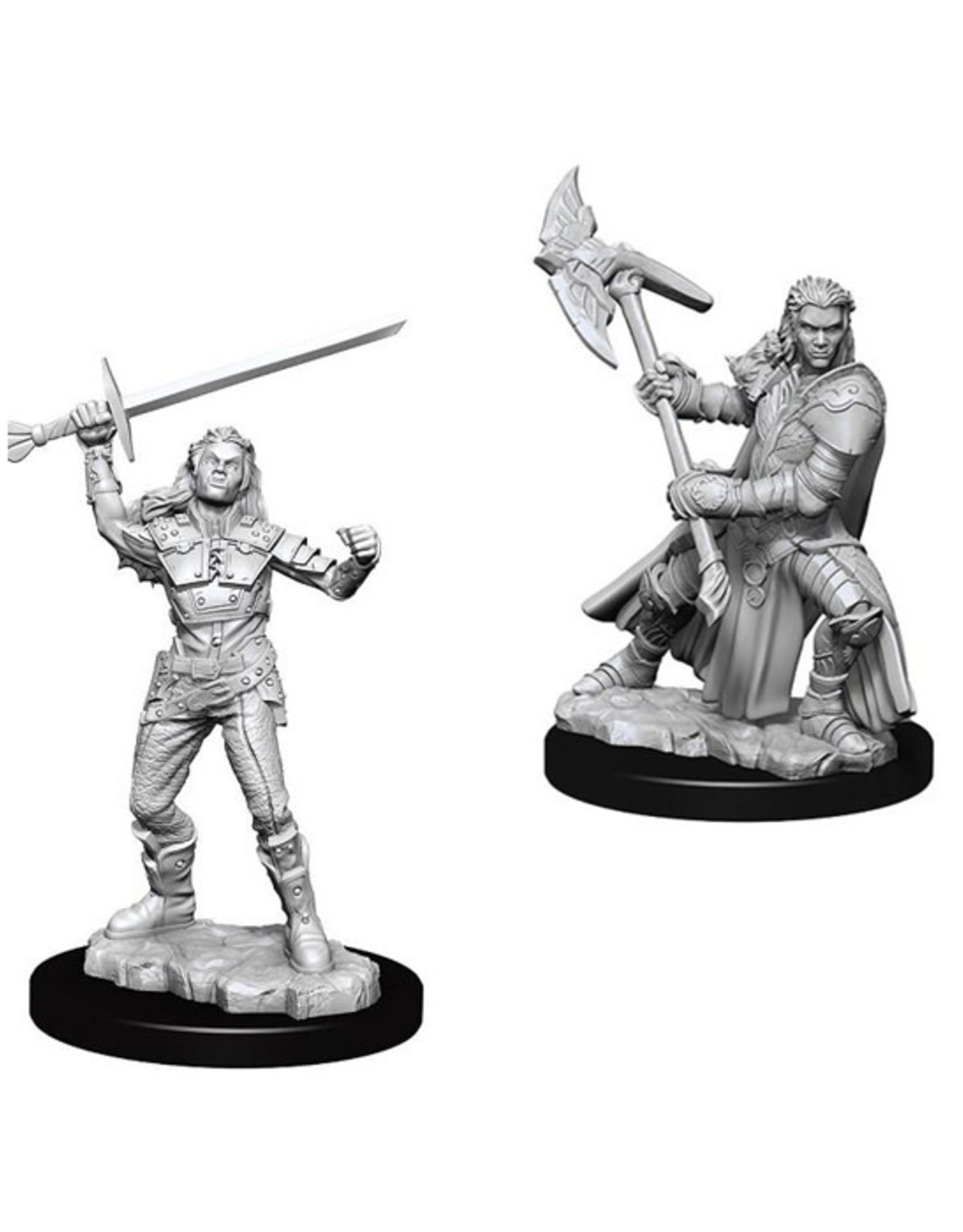 Dungeons & Dragons Dungeons & Dragons: Nolzur's - Half-Orc Female Fighter