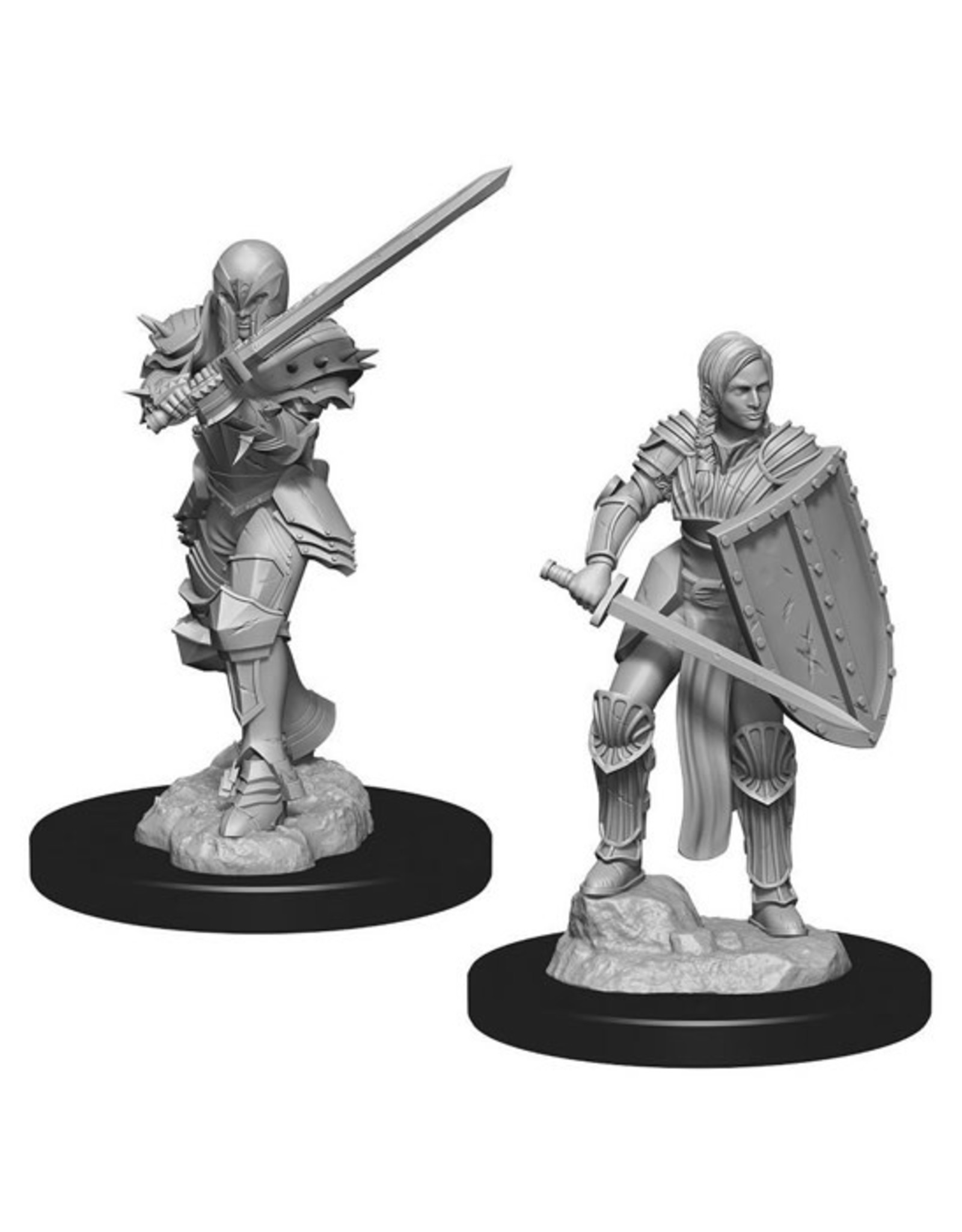 Dungeons & Dragons Dungeons & Dragons: Nolzur's - Human Female Fighter