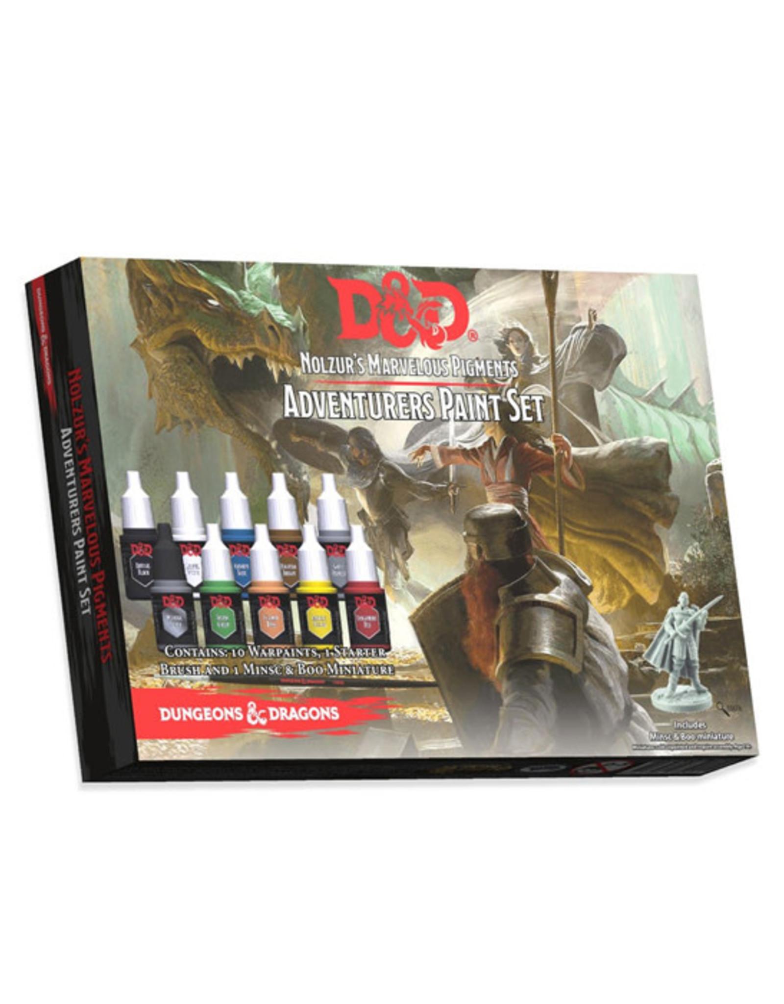 Dungeons & Dragons Dungeons & Dragons: Nolzur's - Paint Set - Adventurers