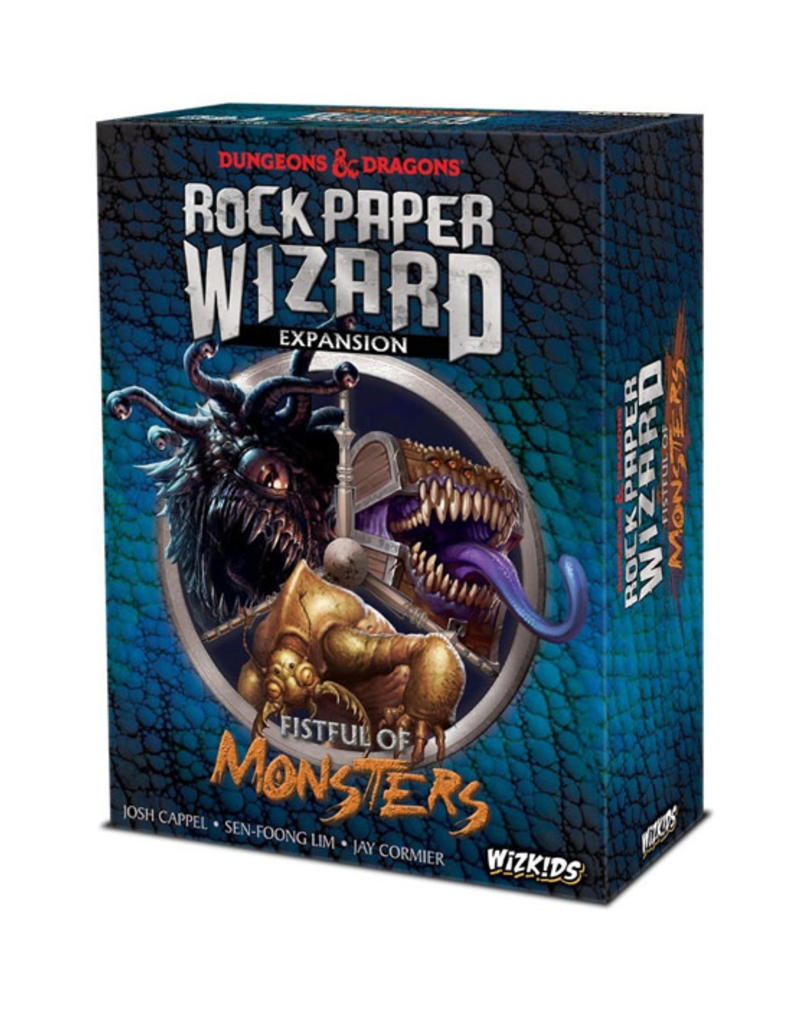 Dungeons & Dragons Dungeons & Dragons: Rock Paper Wizard - Fistful of Monsters Expansion