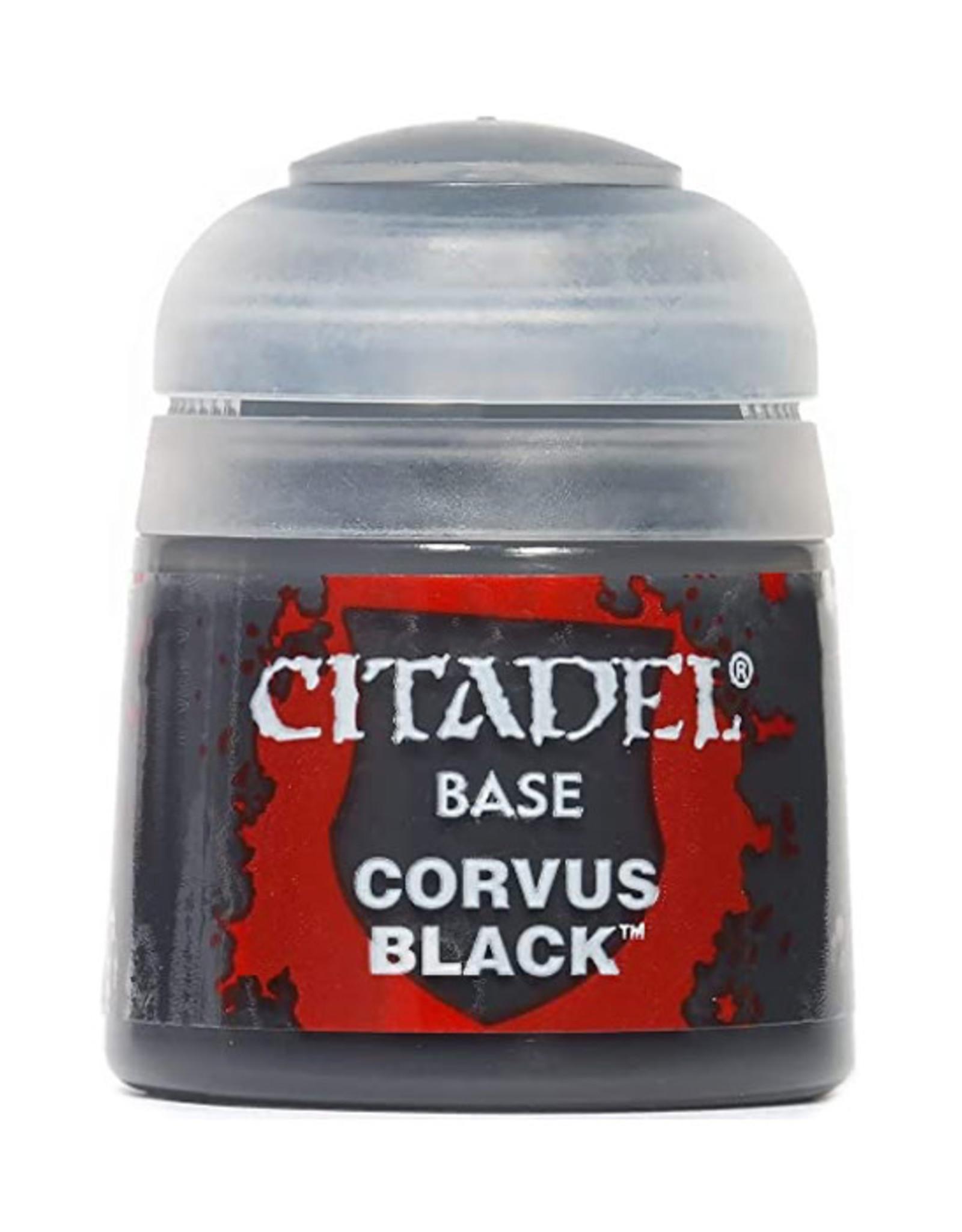 Citadel Citadel Colour: Base - Corvus Black