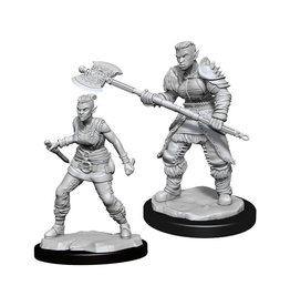 Dungeons & Dragons Dungeons & Dragons: Nolzur's - Orc Female Barbarian
