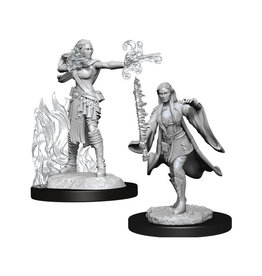 Dungeons & Dragons Dungeons & Dragons: Nolzur's - Multiclass Female Sorcerer + Warlock