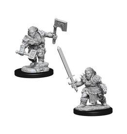 Pathfinder Pathfinder Battles: Deep Cuts - Dwarf Female Barbarian