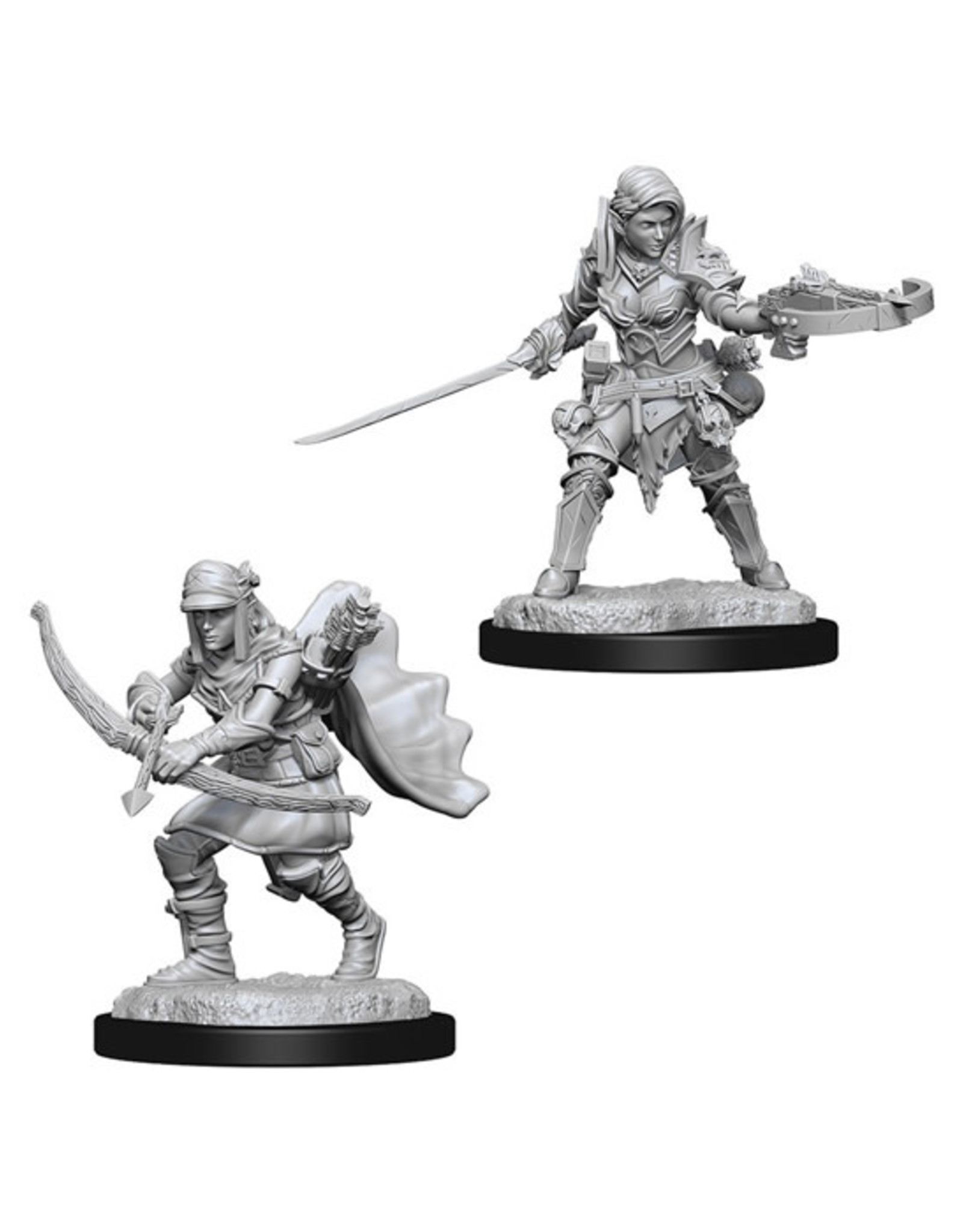 Pathfinder Pathfinder Battles: Deep Cuts - Half-Elf Female Ranger