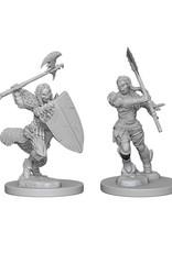 Pathfinder Pathfinder Battles: Deep Cuts - Half-Orc Female Barbarian