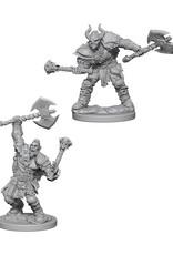 Pathfinder Pathfinder Battles: Deep Cuts - Half-Orc Male Barbarian