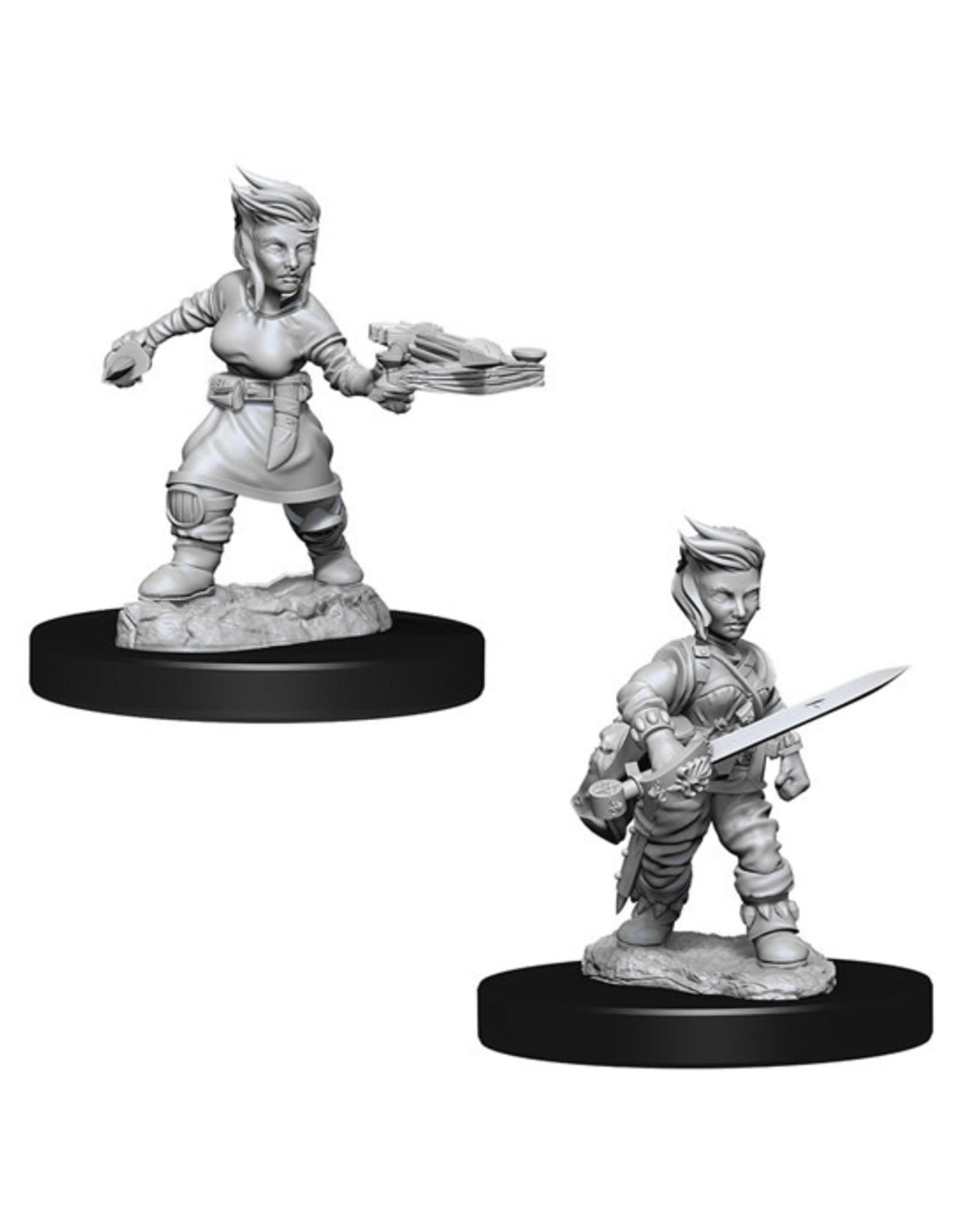Pathfinder Pathfinder Battles: Deep Cuts - Halfling Female Rogue