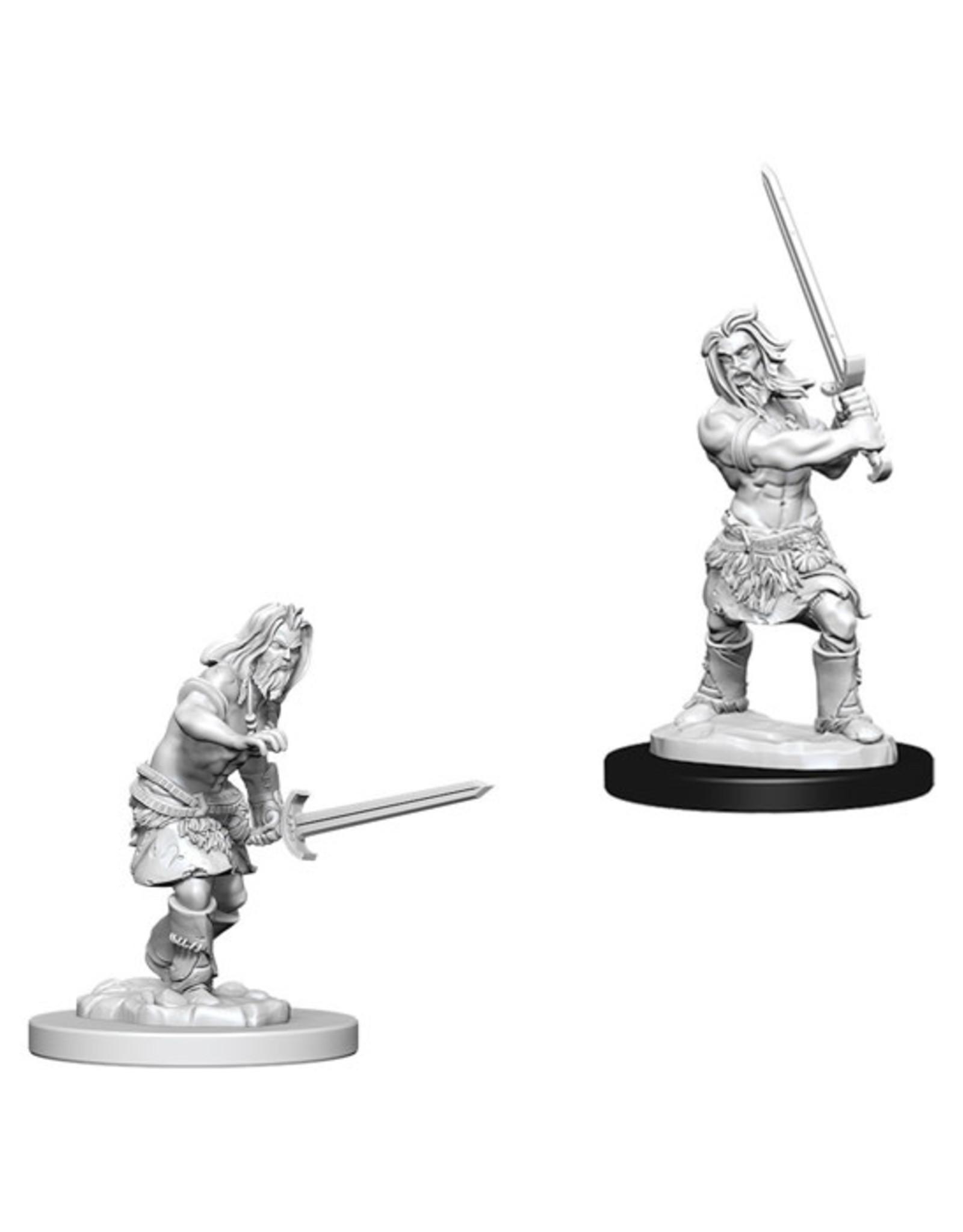Pathfinder Pathfinder Battles: Deep Cuts - Human Male Barbarian