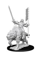 Pathfinder Pathfinder Battles: Deep Cuts - Orc on Direwolf