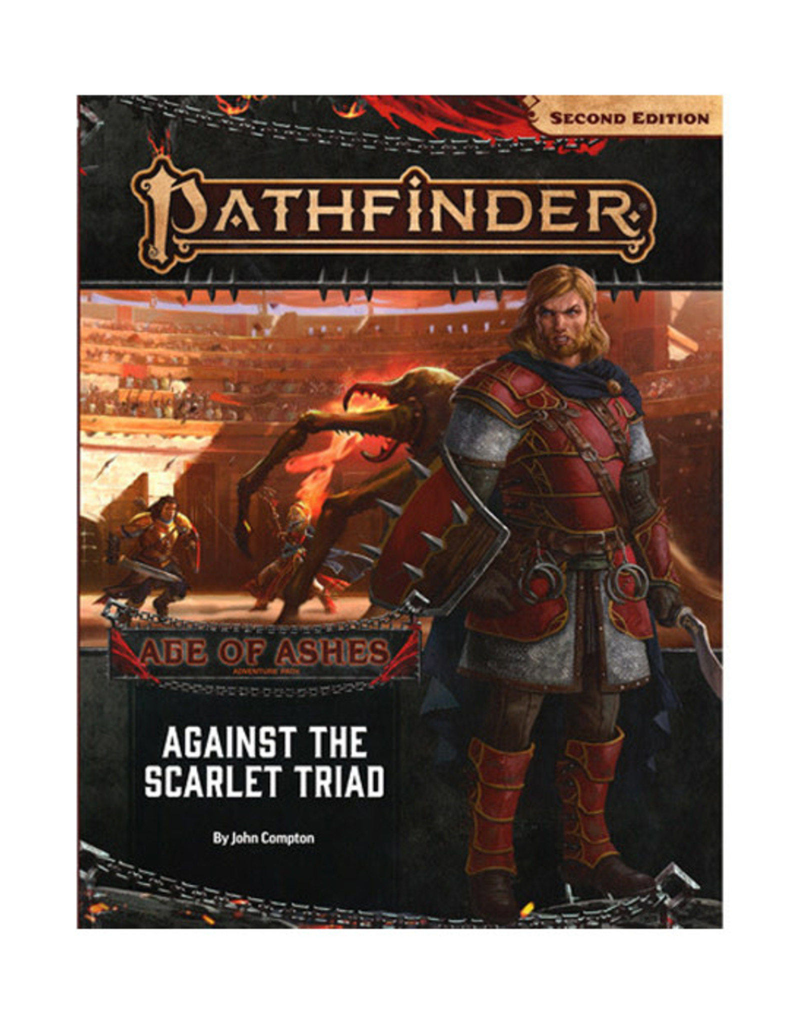 Pathfinder Pathfinder: 2nd Edition - Adventure Path - Age of Ashes - Against the Scarlet Triad