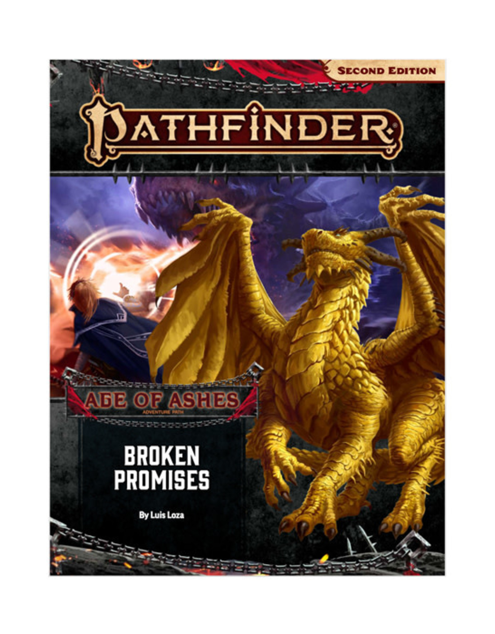 Pathfinder Pathfinder: 2nd Edition - Adventure Path - Age of Ashes - Broken Promises