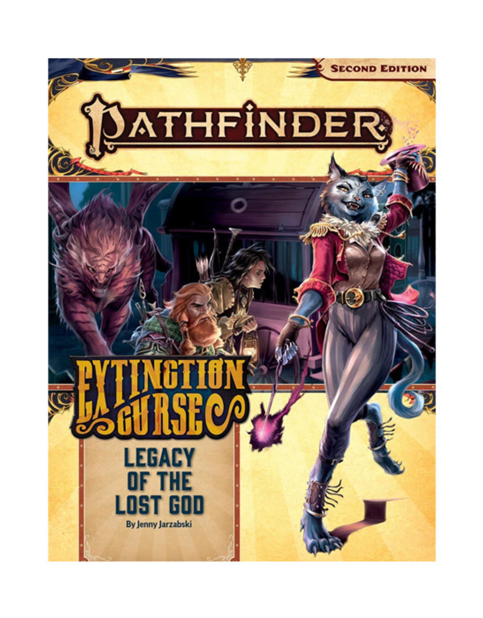 Pathfinder Pathfinder: 2nd Edition - Adventure Path - Extinction Curse - Legacy of the Lost God