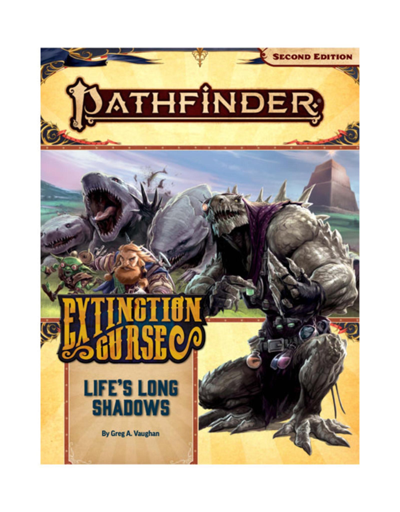Pathfinder Pathfinder: 2nd Edition - Adventure Path - Extinction Curse - Life's Long Shadows