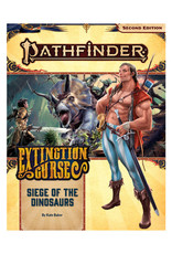Pathfinder Pathfinder: 2nd Edition - Adventure Path - Extinction Curse - Siege of the Dinosaurs