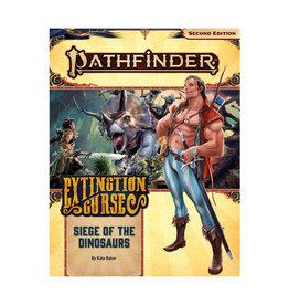 Pathfinder Pathfinder: 2nd Edition - Adventure Path - Extinction Curse - Siege of the Dinosaurs