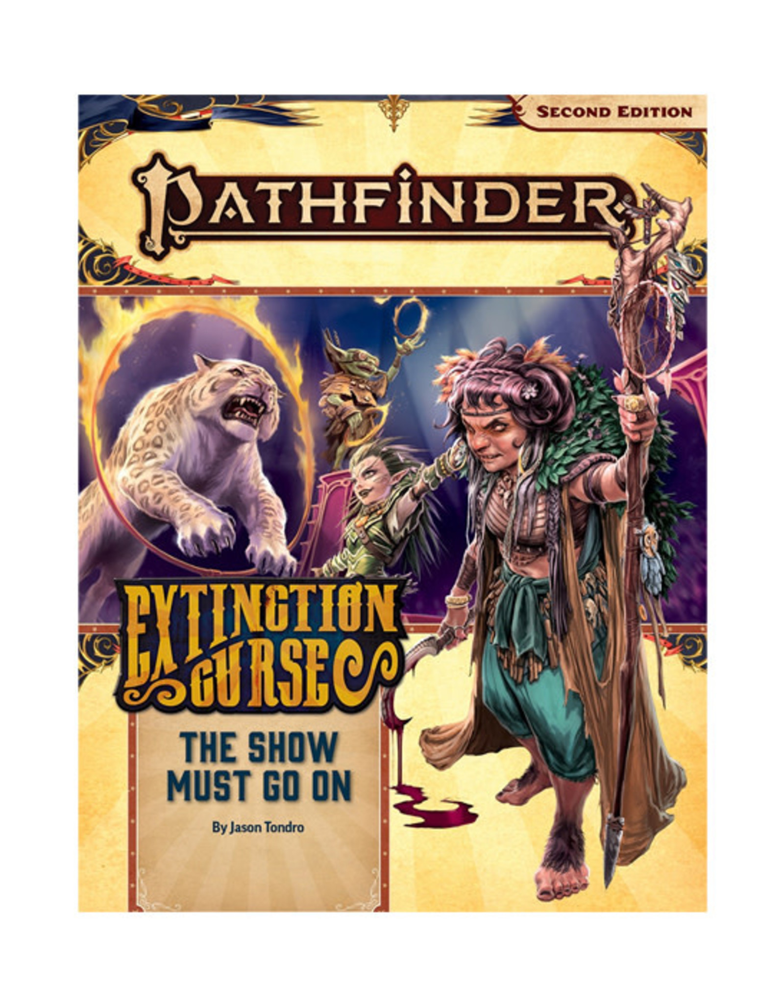 Pathfinder Pathfinder: 2nd Edition - Adventure Path - Extinction Curse - The Show Must Go On