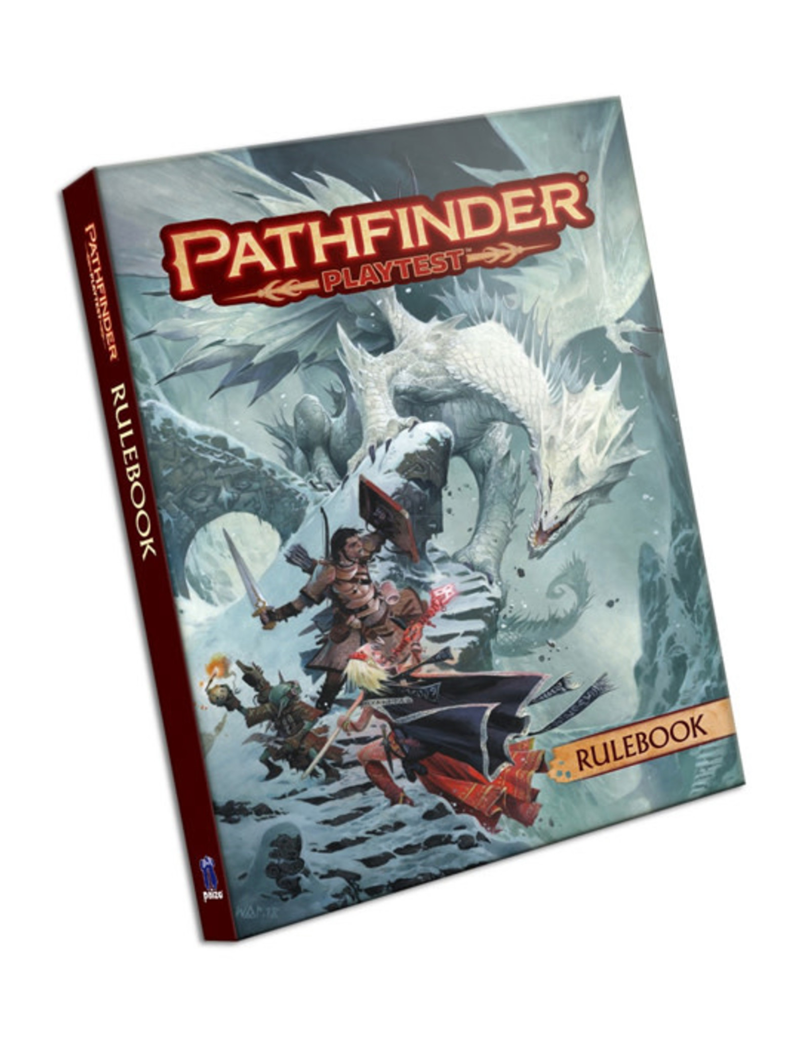 Pathfinder Pathfinder: 2nd Edition - Playtest - Rulebook (Softcover)