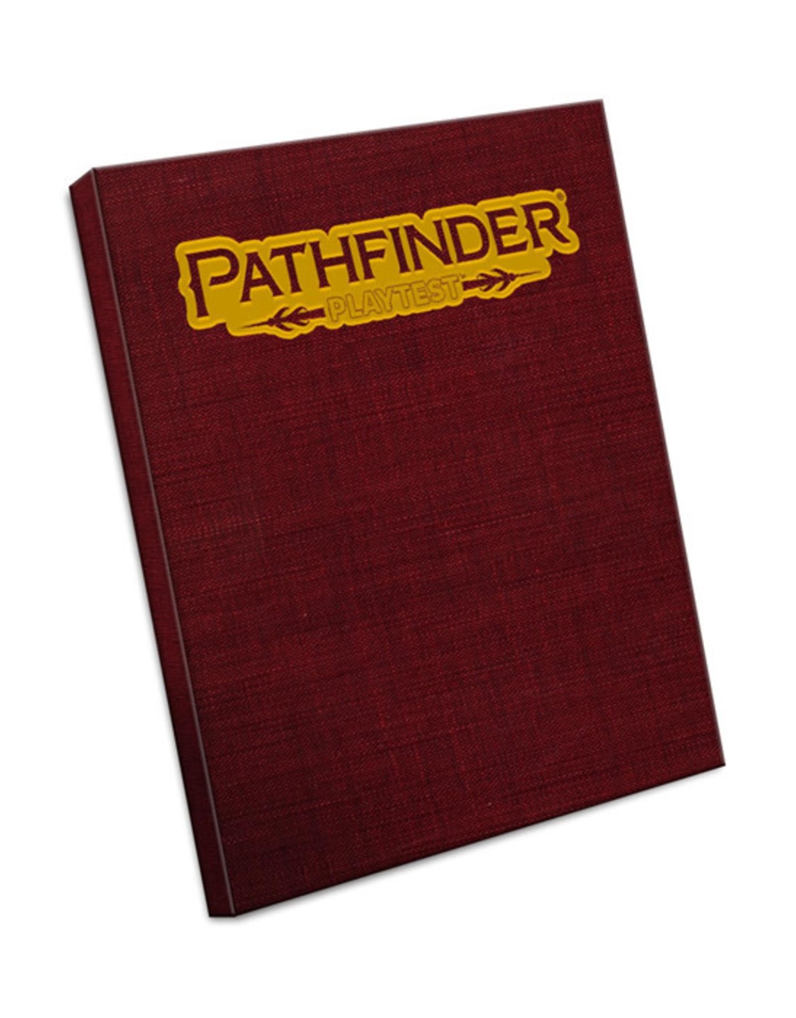 Pathfinder Pathfinder: 2nd Edition - Playtest - Rulebook (Special Edition)