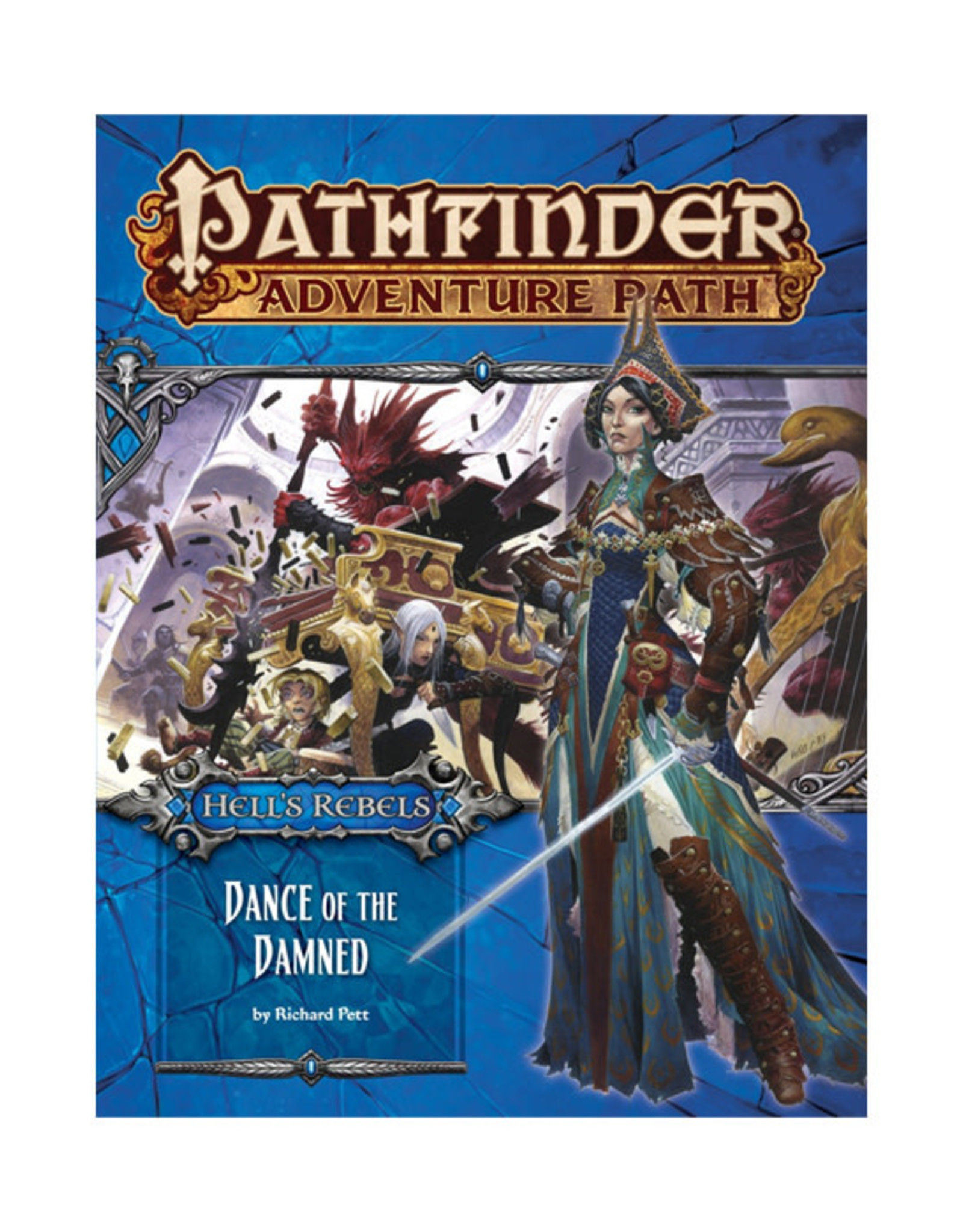 Pathfinder Pathfinder: Adventure Path - Hell's Rebels - Dance of the Damned