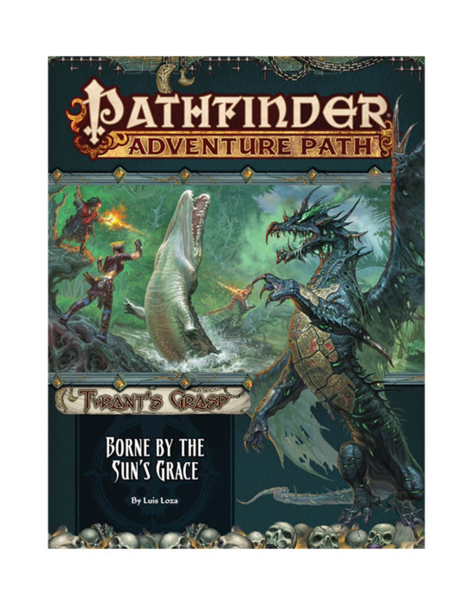 Pathfinder Pathfinder: Adventure Path - Tyrant's Grasp - Borne by the Sun's Grace
